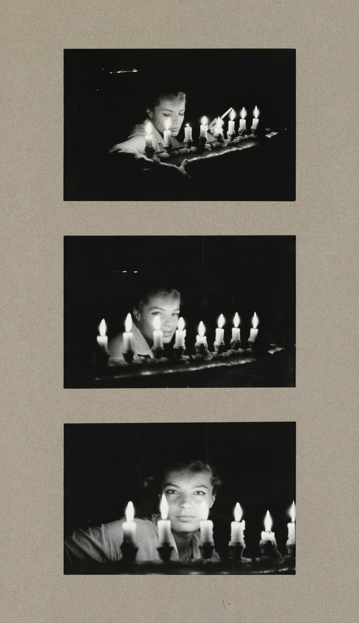 Milton H. Greene-Romy Schneider-1960