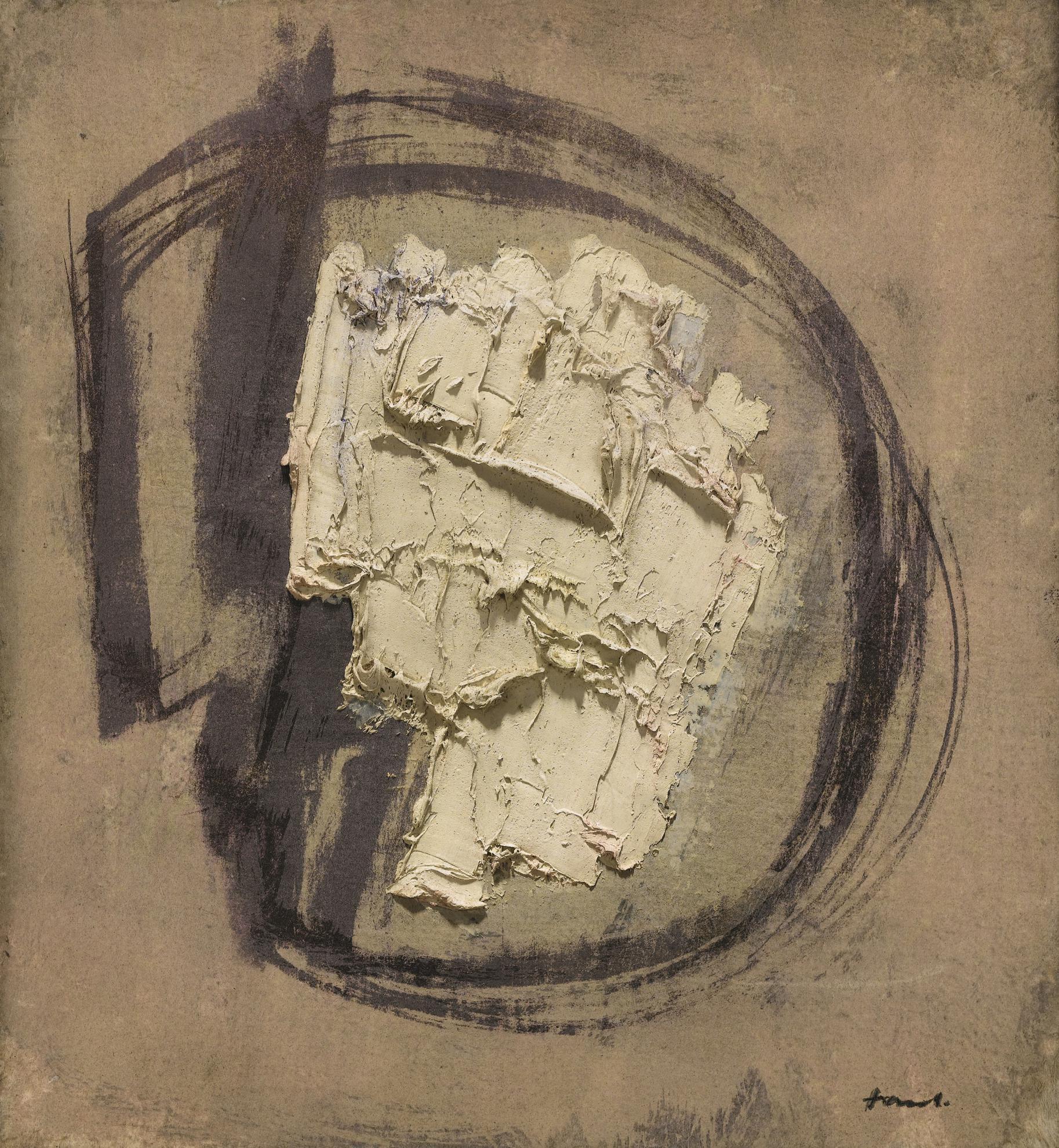 Jean Fautrier-Visage De Lhomme-1950