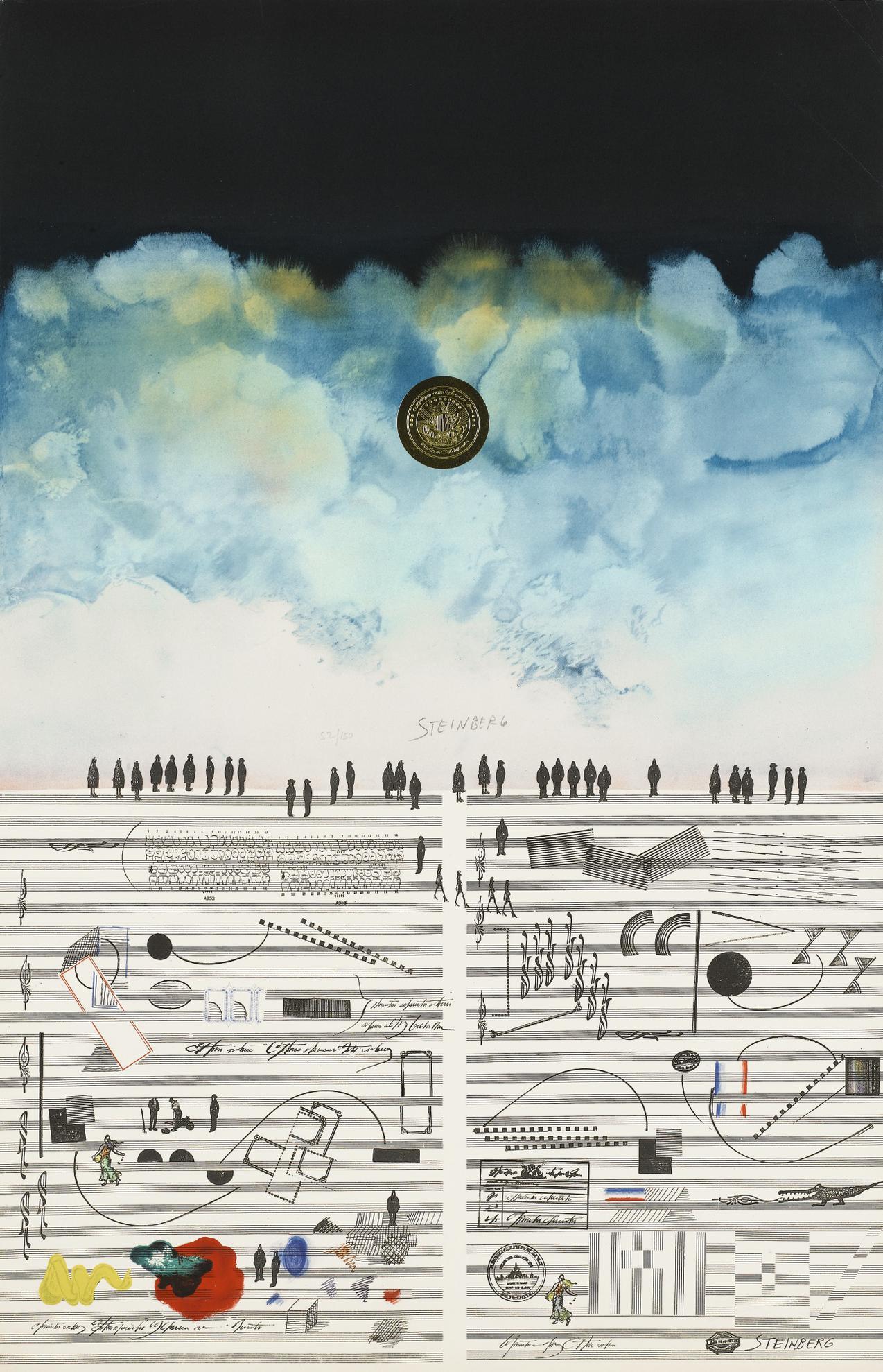 Saul Steinberg-Toute La Musique-