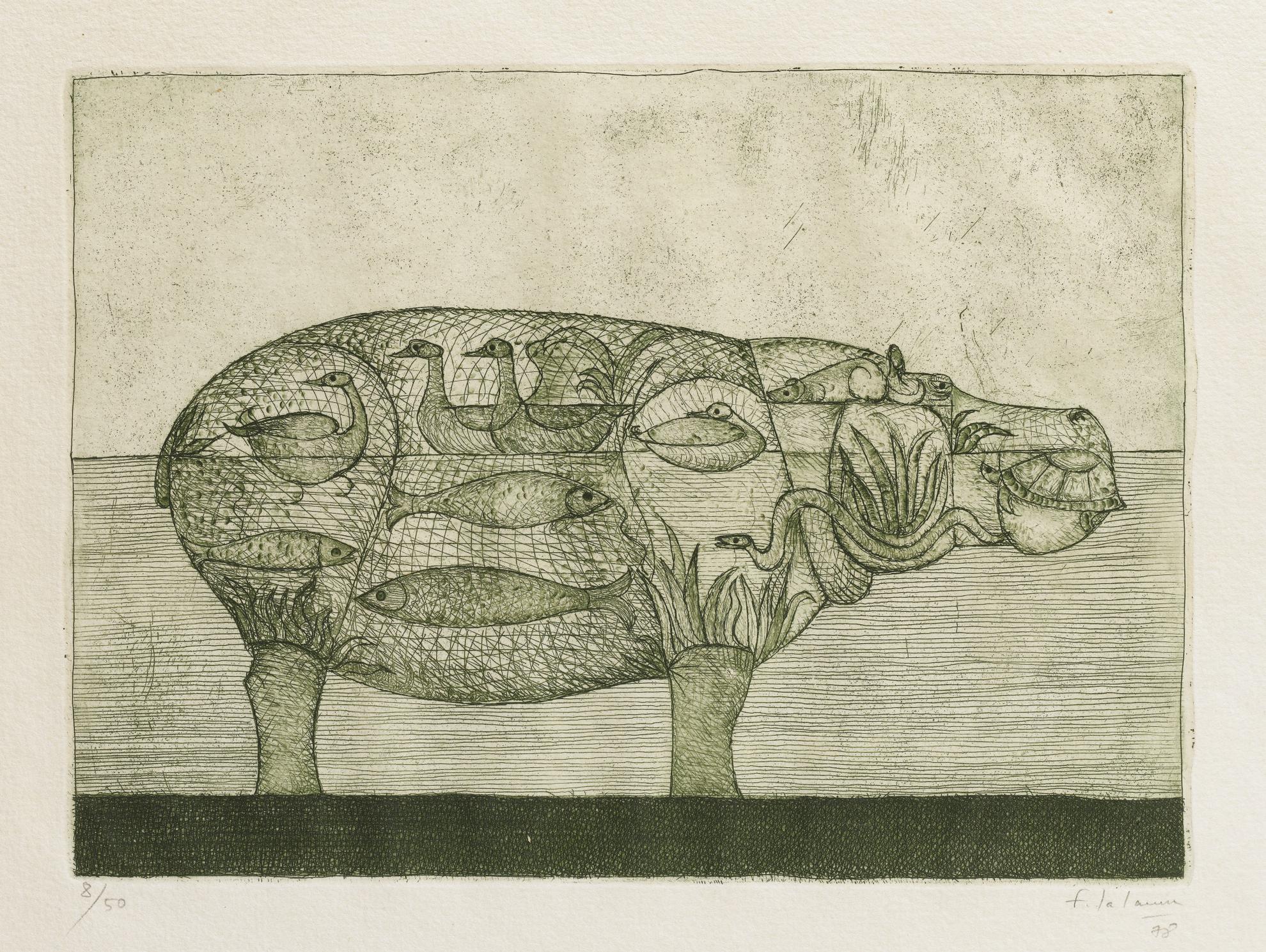 Francois-Xavier Lalanne-Hippopotame-1978
