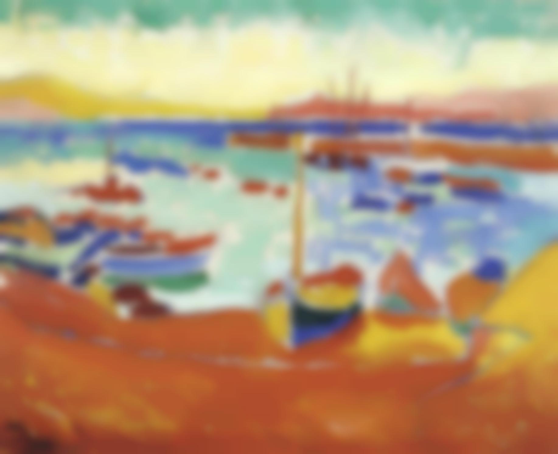 Andre Derain-Bateaux A Collioure-1905