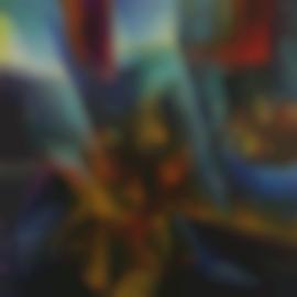 Umberto Boccioni-Testa + Luce + Ambiente-1912