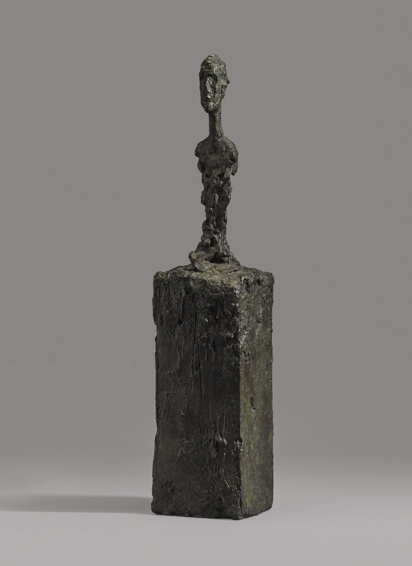 Alberto Giacometti-Buste Dhomme Sur Socle-1990