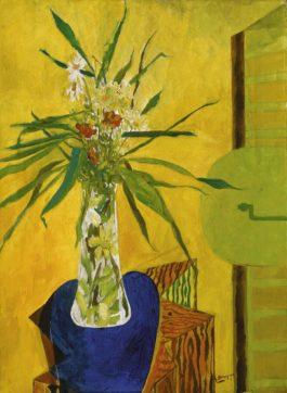 Georges Braque-Marguerites Sur Une Caisse-1946