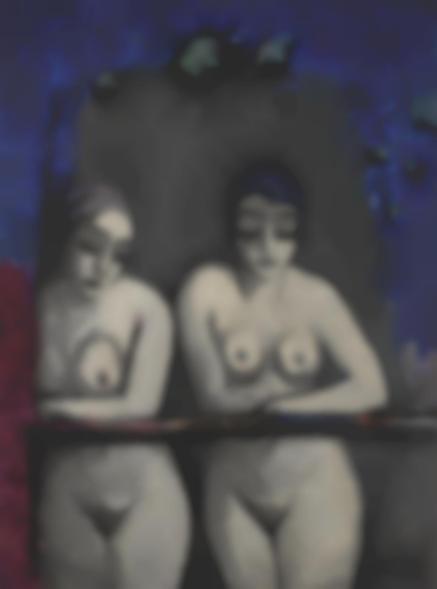 Kees van Dongen-Deux Femmes Nues A La Fenetre-1922