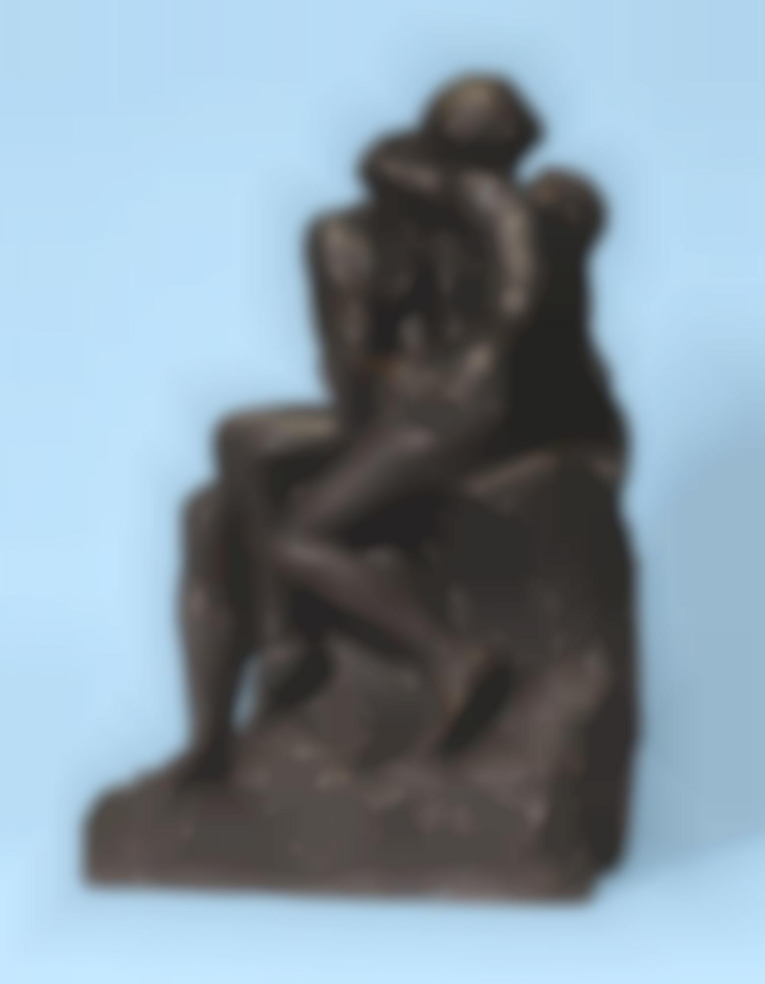 Auguste Rodin-Baiser, Deuxieme Reduction-1914