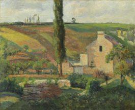 Camille Pissarro-La Cote Des Mathurins A Lhermitage, Pontoise-1876