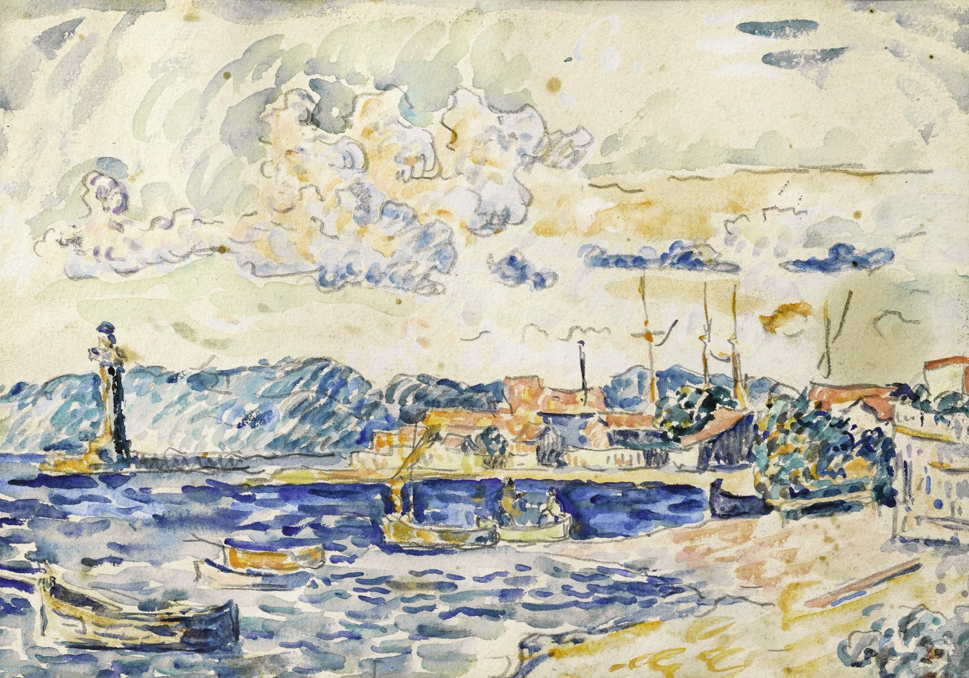 Paul Signac-Saint-Tropez-1900