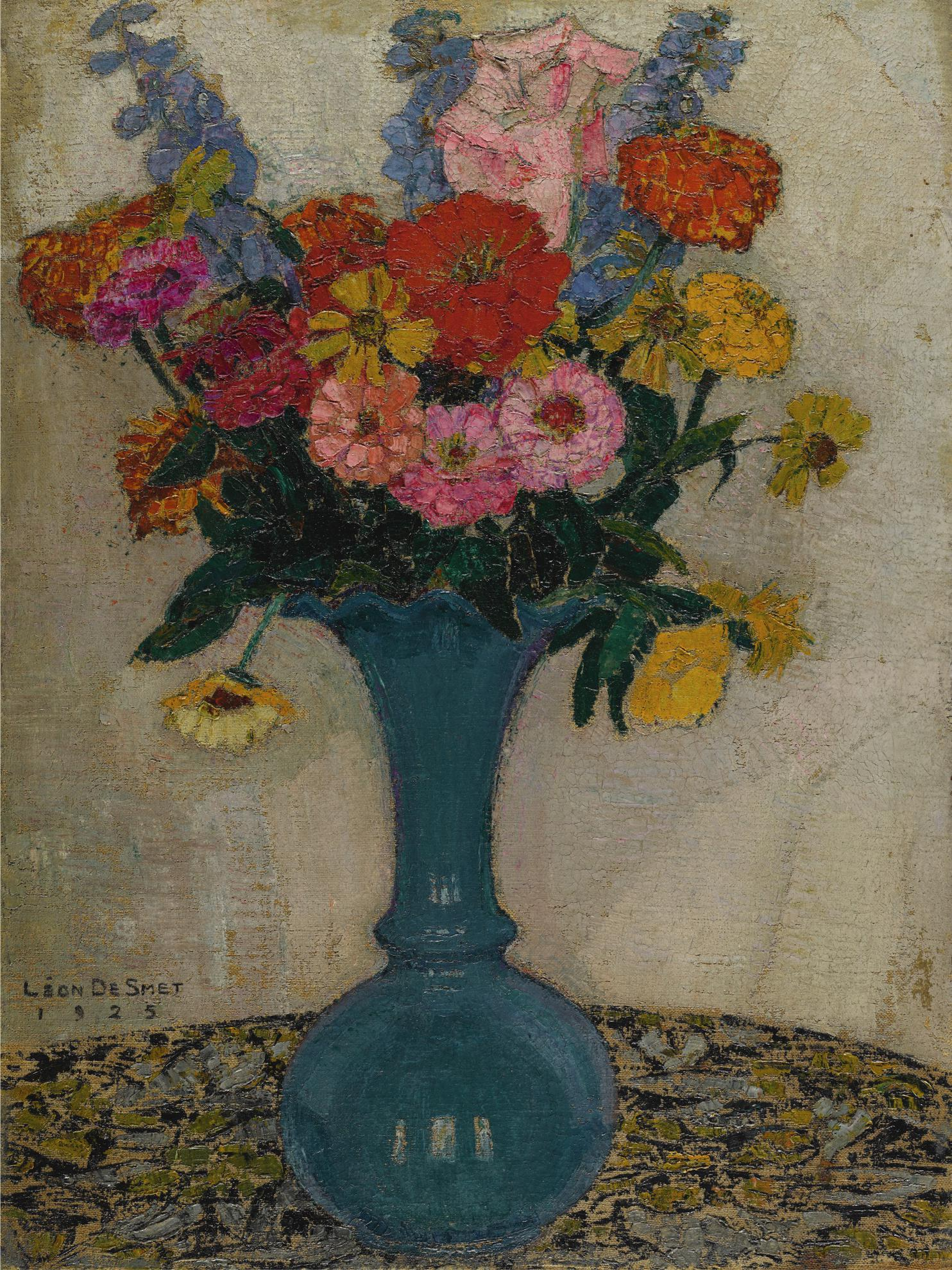 Leon De Smet-Bouquet De Fleurs-1925