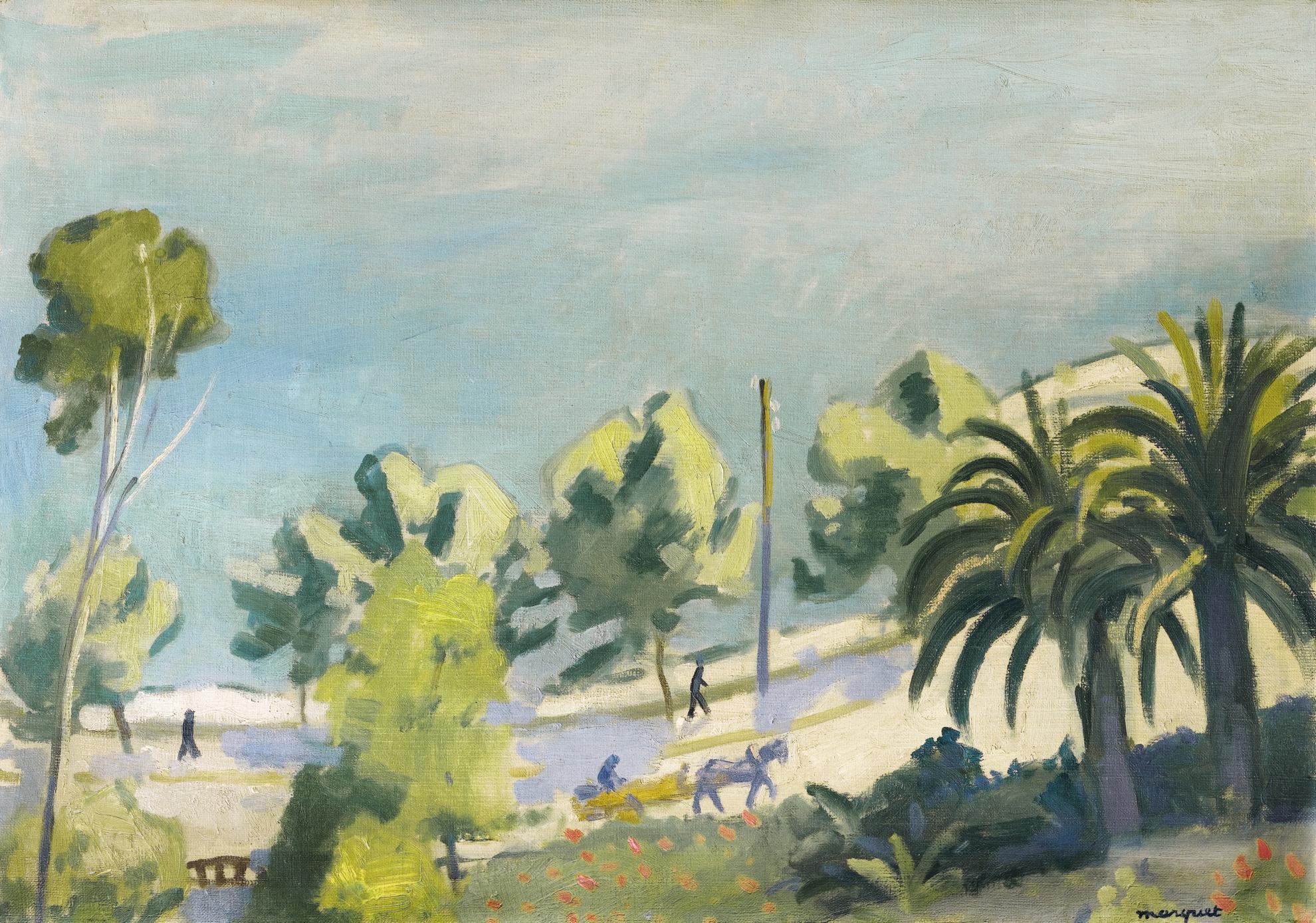 Albert Marquet-La Route De L'Estaque-1918