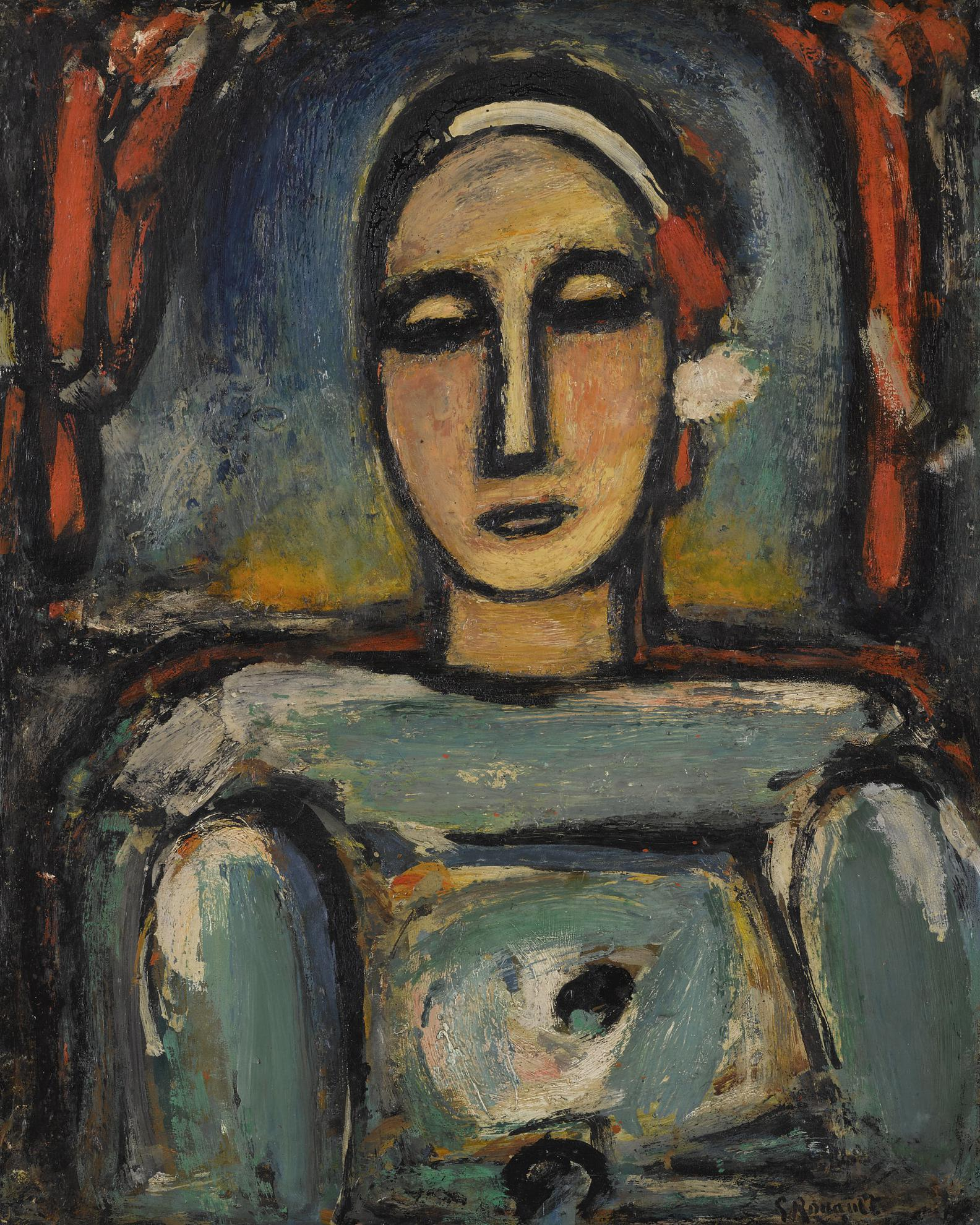 Georges Rouault-Pierrot-1938
