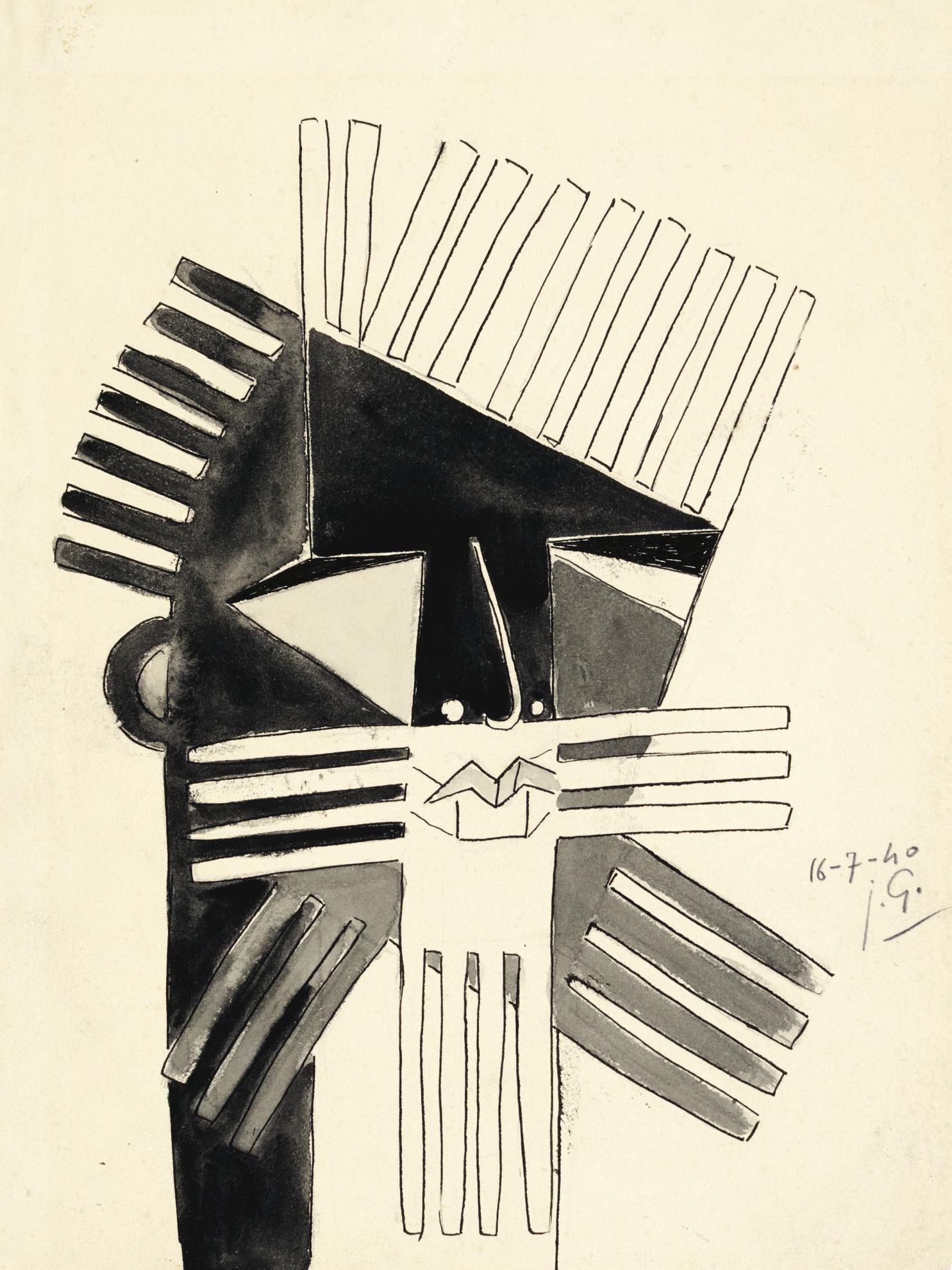 Julio Gonzalez-Le Barbu-1940