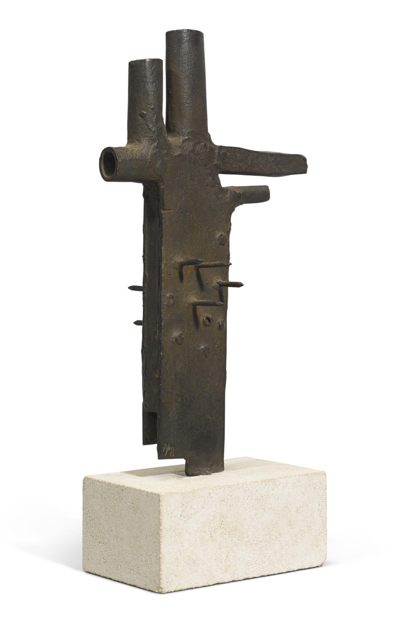 Julio Gonzalez-Main Aux Piquants-1937