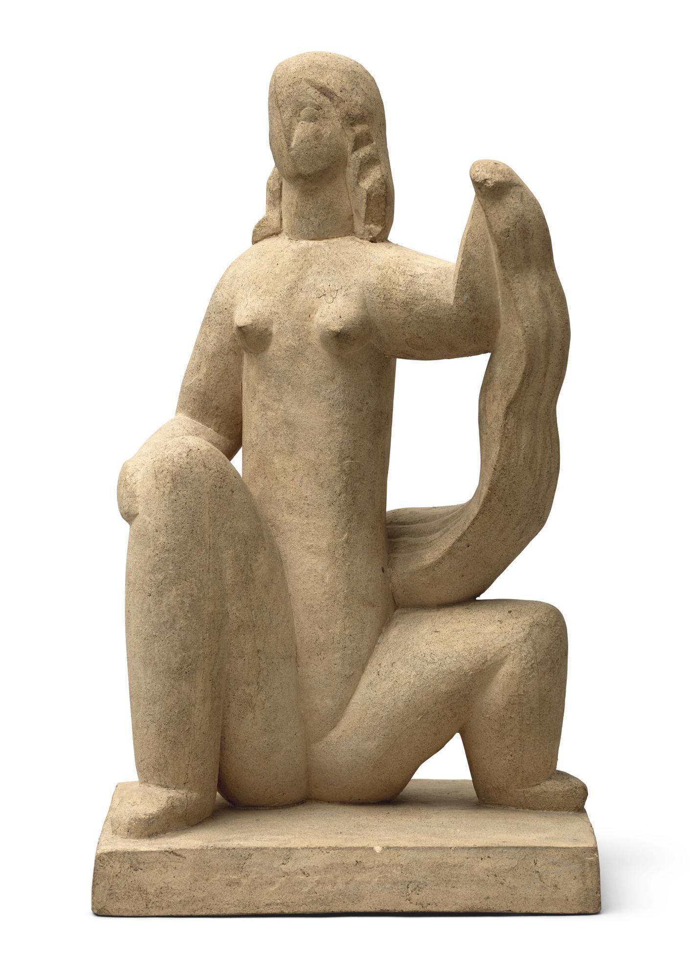 Henri Laurens-Femme Accroupie-1930