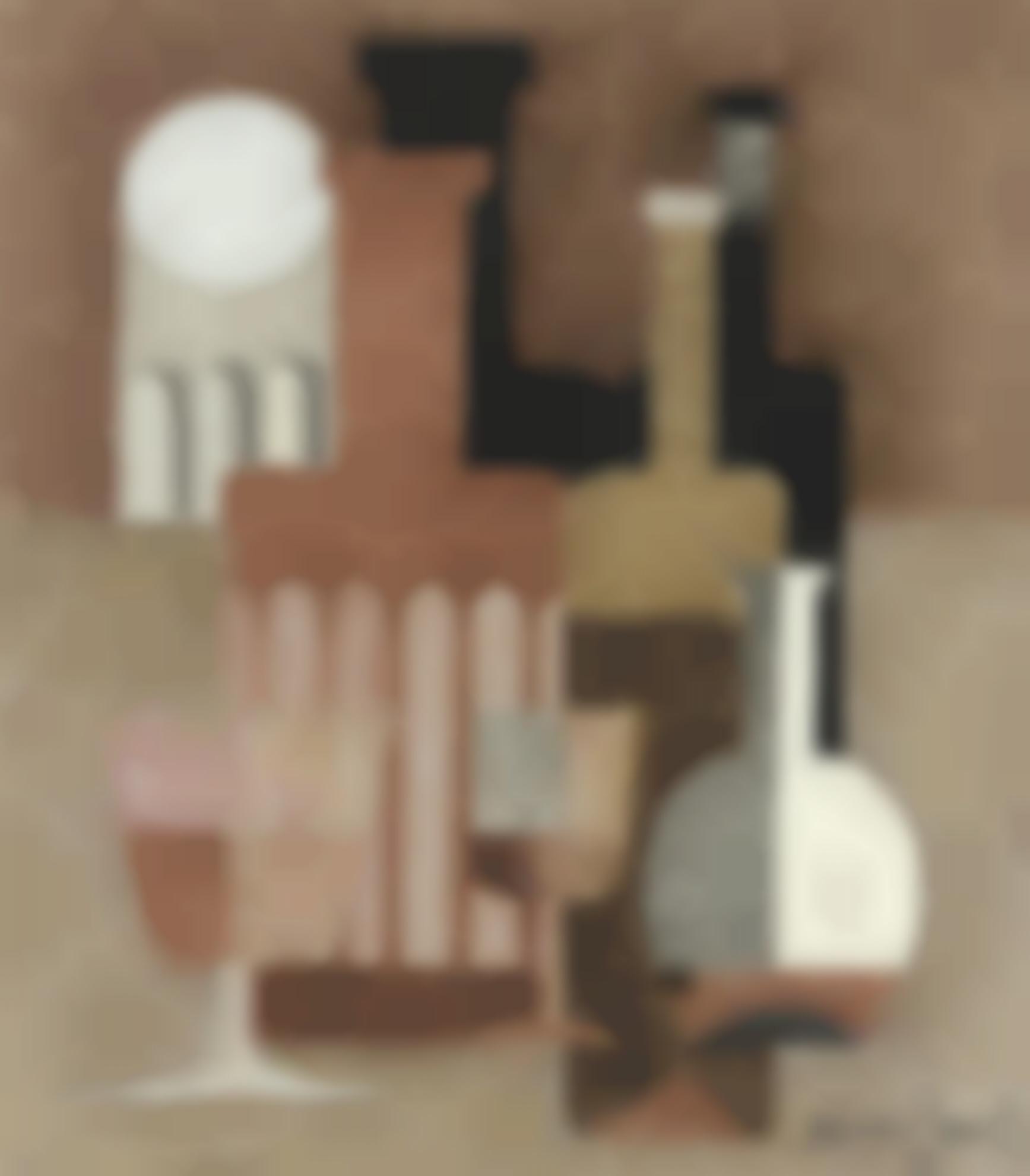 Amedee Ozenfant-Nature Morte Puriste-1922