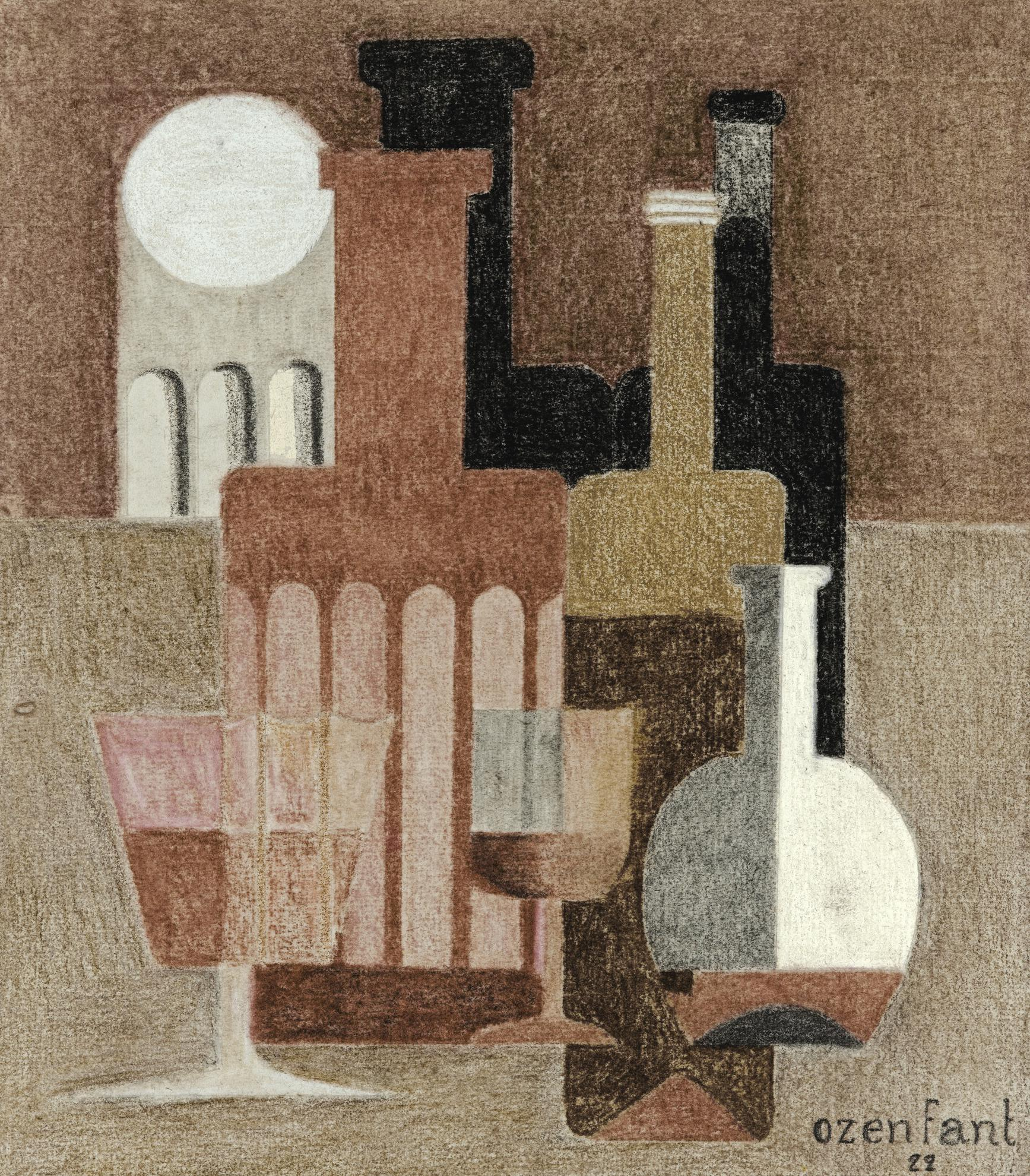 Amedee Ozenfant-Nature Morte Puriste-1922