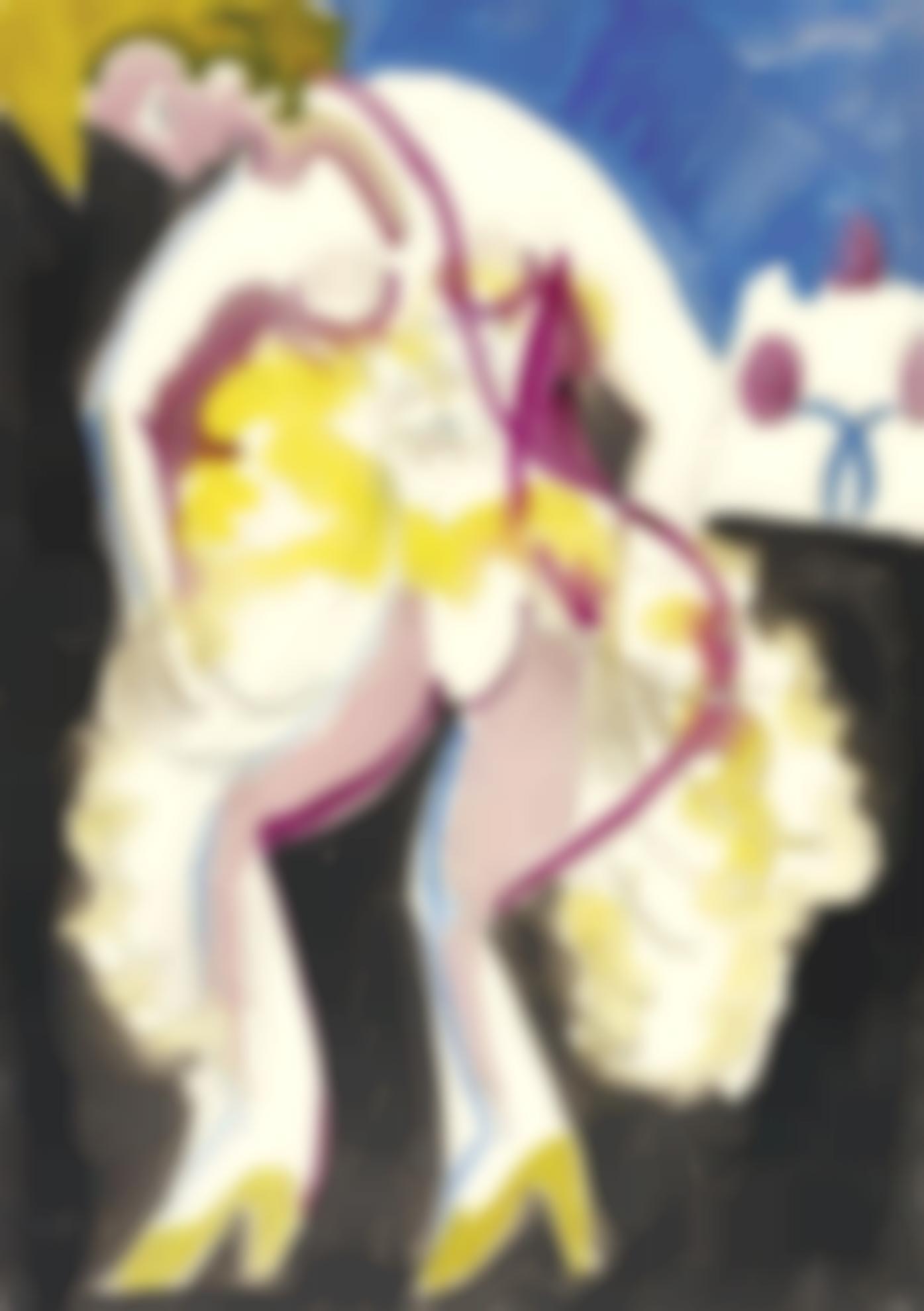 Ernst Ludwig Kirchner-Tanzerin Palucca (The Dancer Palucca)-1930