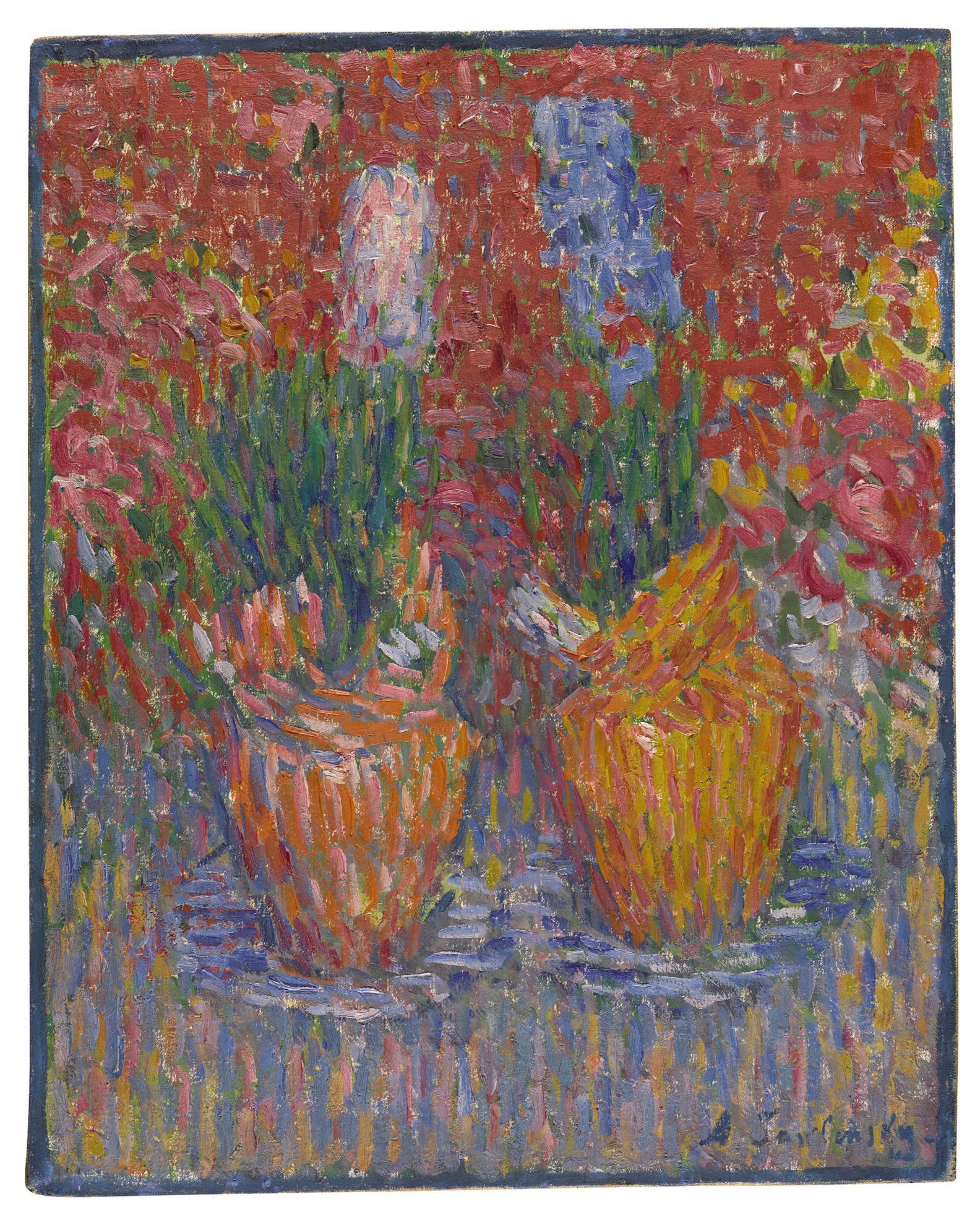 Alexej von Jawlensky-Hyazinthentopfe (Hyacinth Pots)-1902