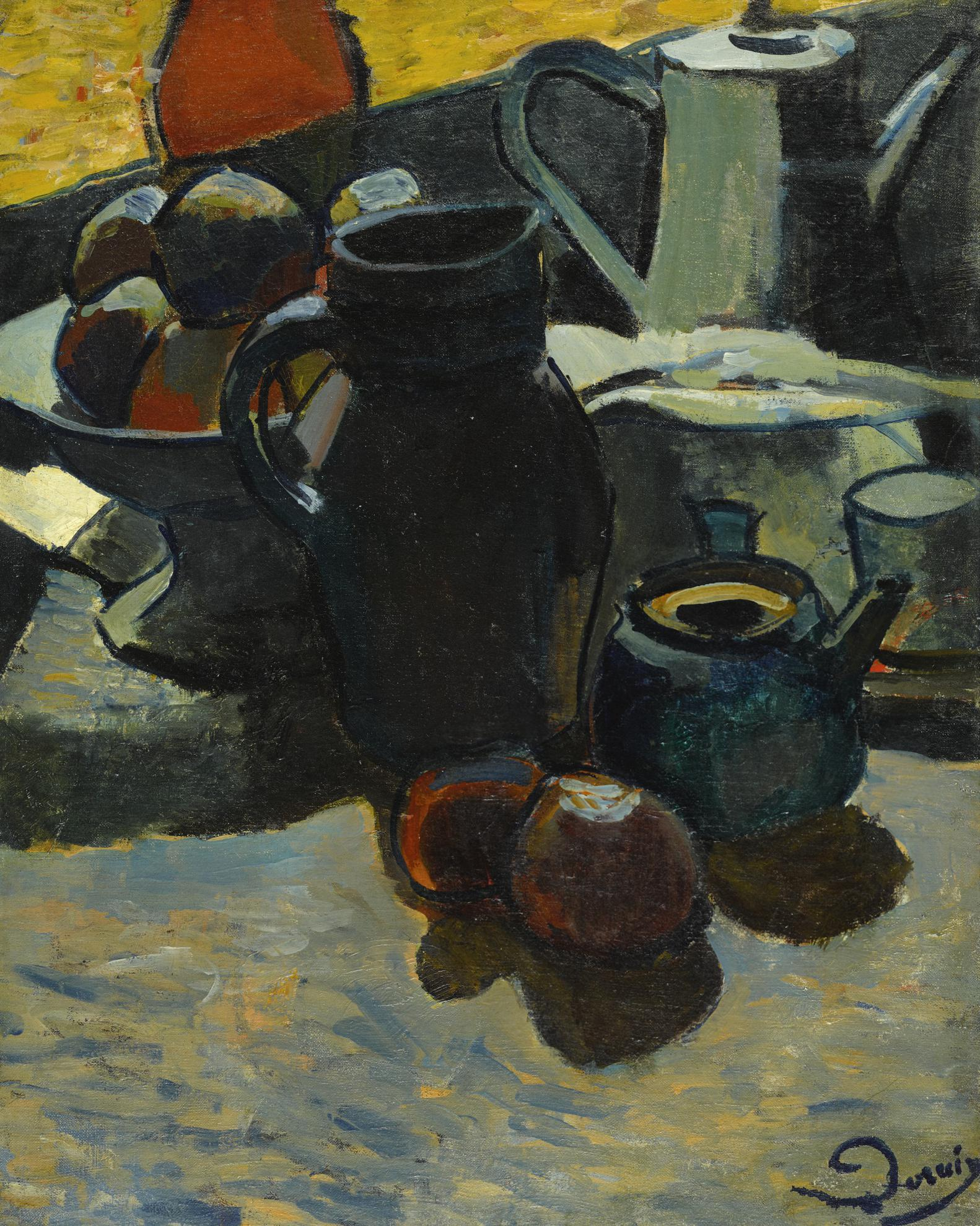Andre Derain-Nature Morte-1901