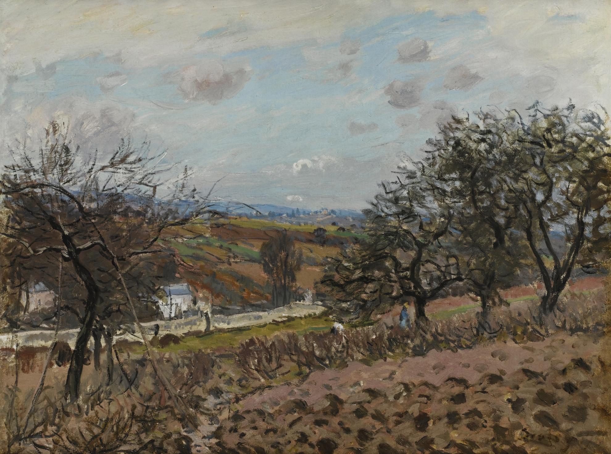 Alfred Sisley-Bougival-1876