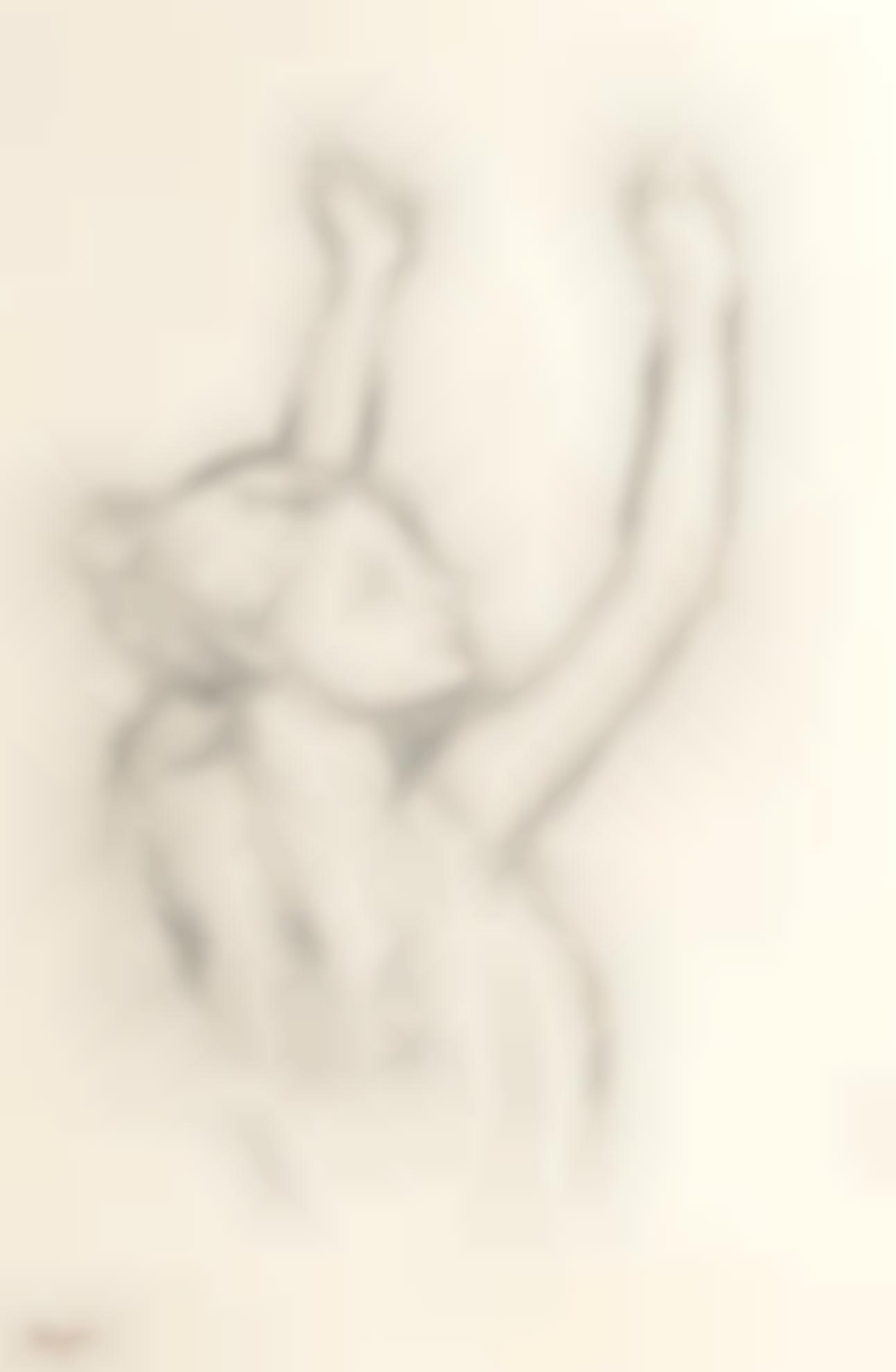 Edgar Degas-Danseuse, Les Bras Leves-