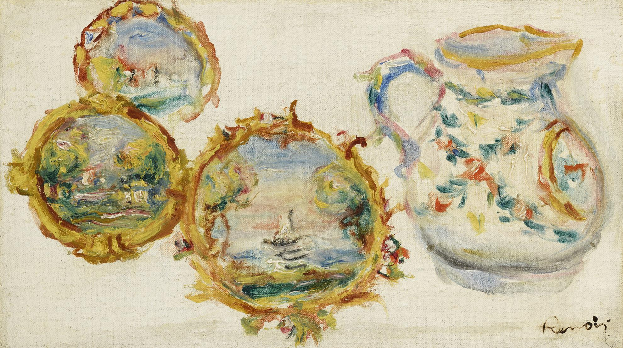 Pierre-Auguste Renoir-Faiences Decorees-1916