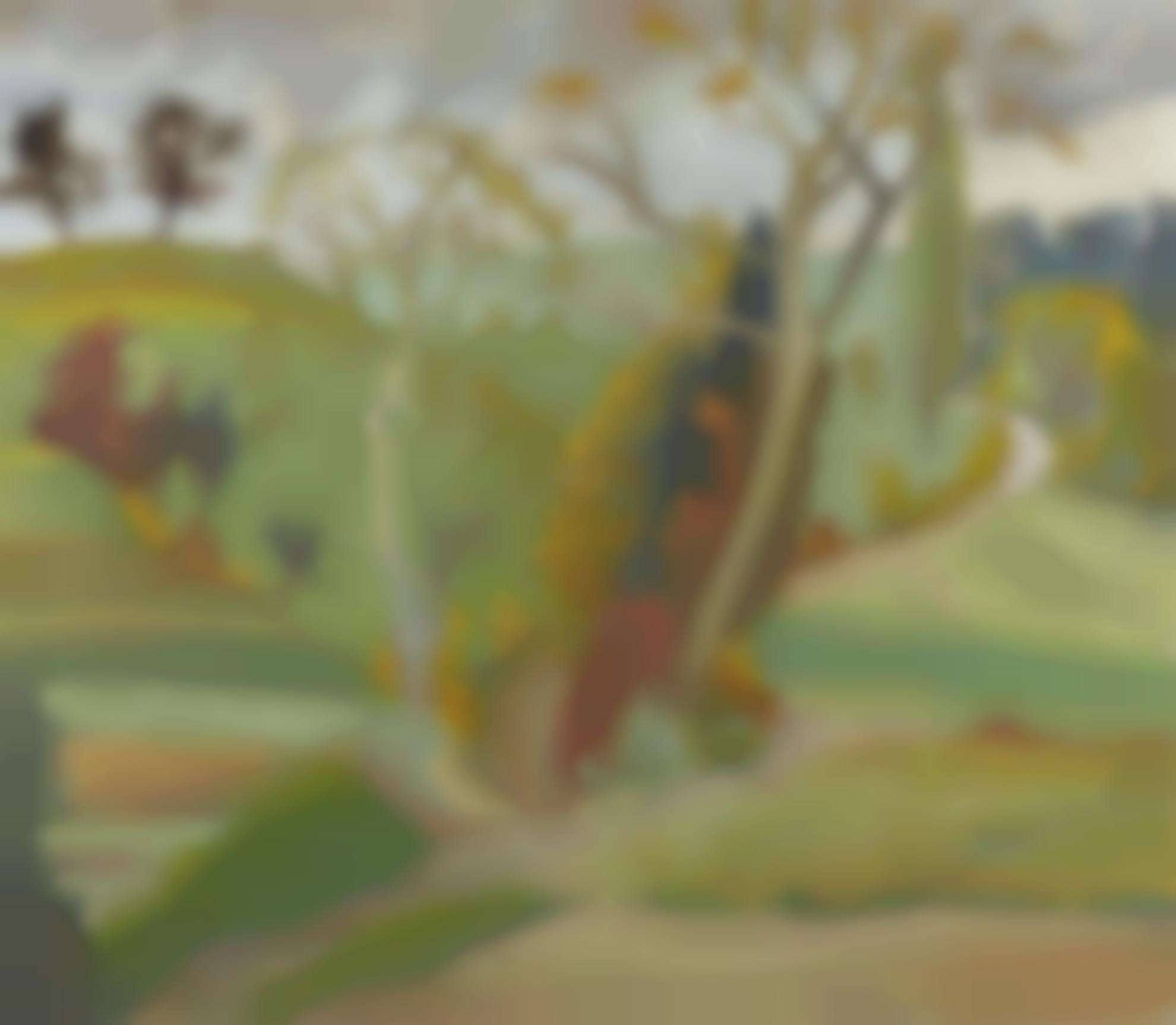 Erich Heckel-Bergwege (Mountain Path)-1936