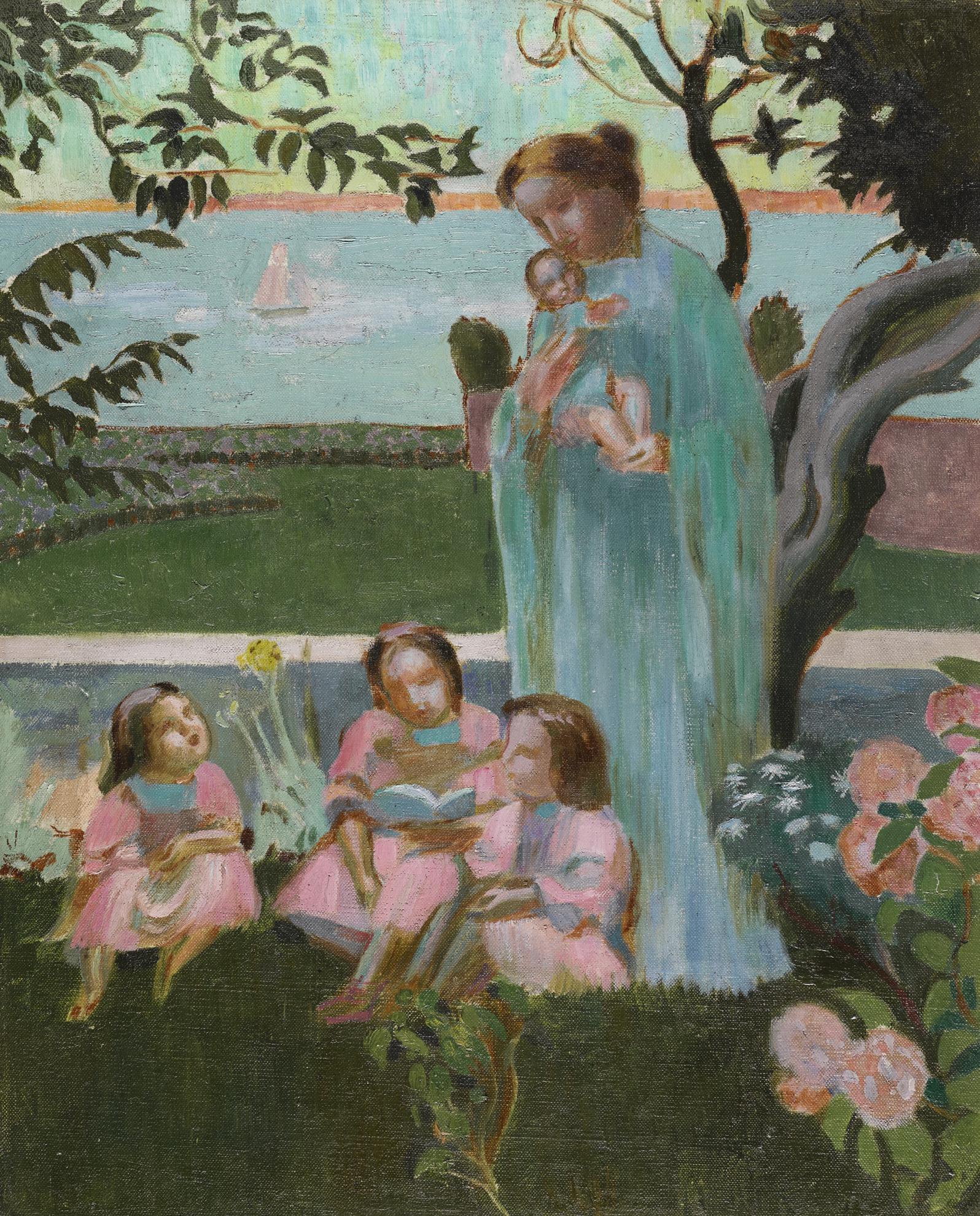 Maurice Denis-Soir Dete (Version 4)-1906