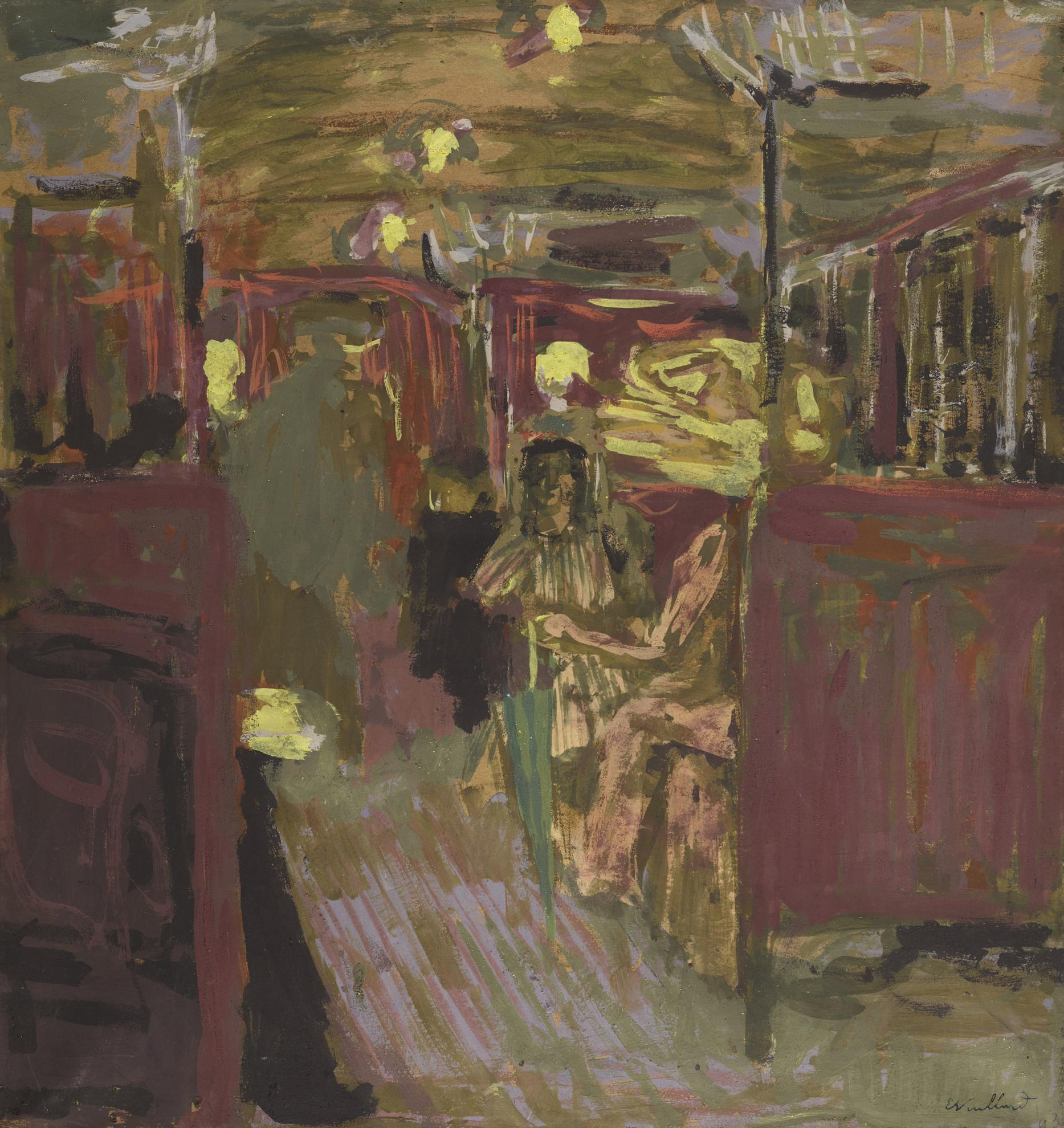 Edouard Vuillard-Le Wagon De Metro I-1909