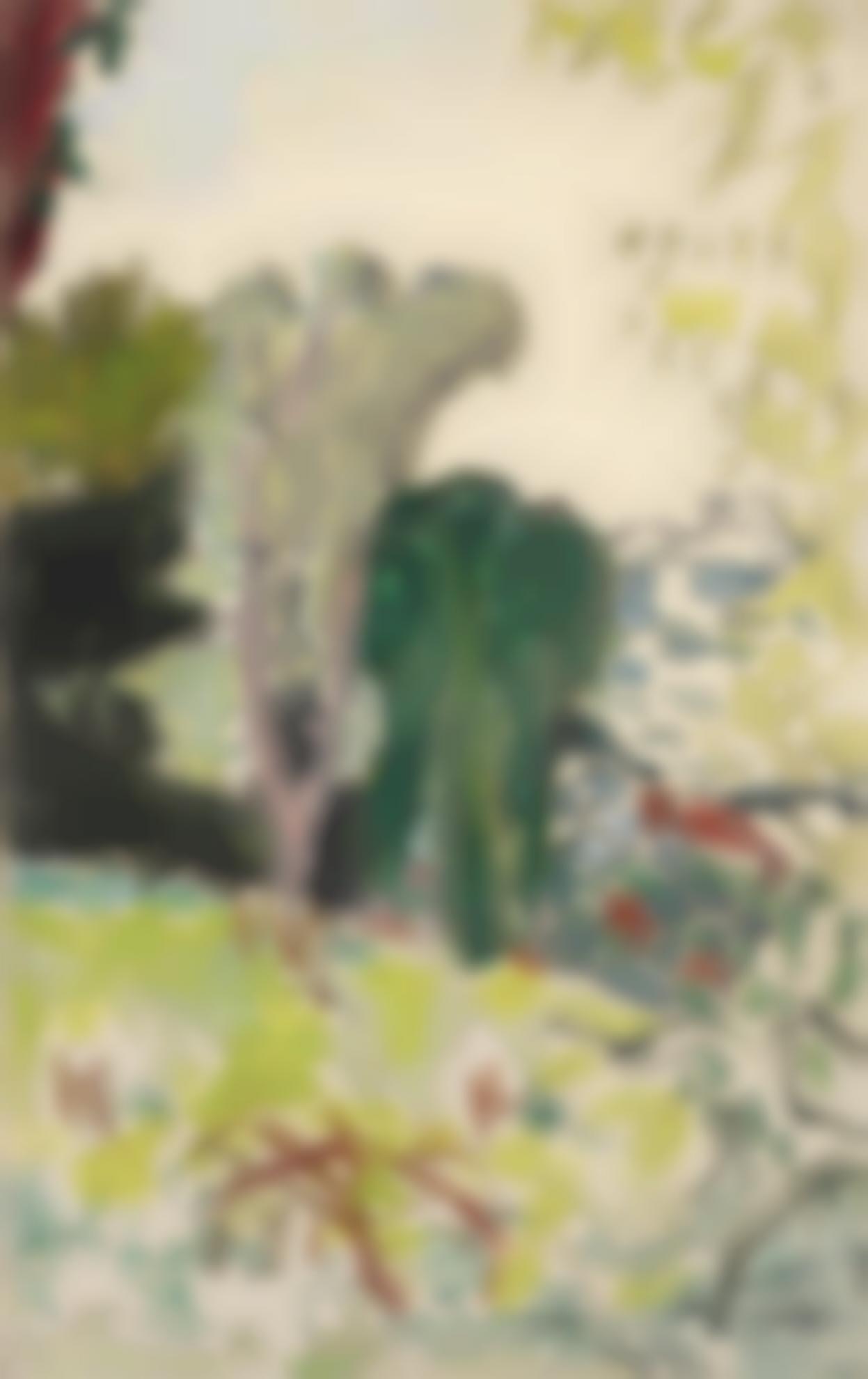 Pierre Bonnard-Vue Sur Antibes-1922