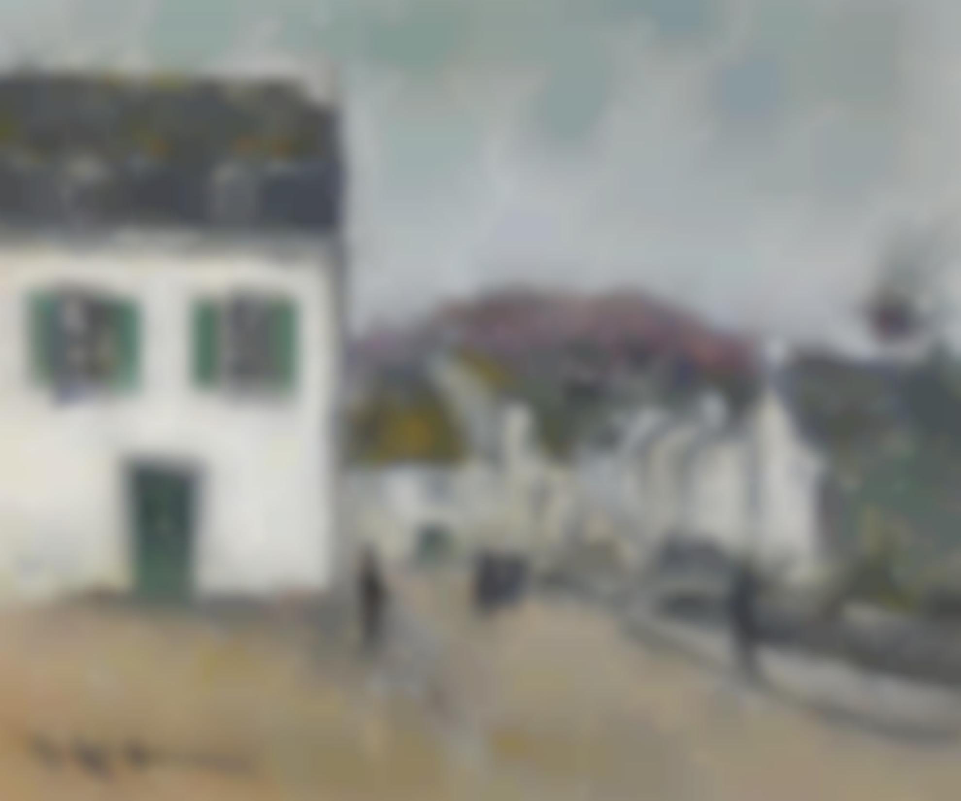Gustave Loiseau-Rue A Pont-Aven-1922