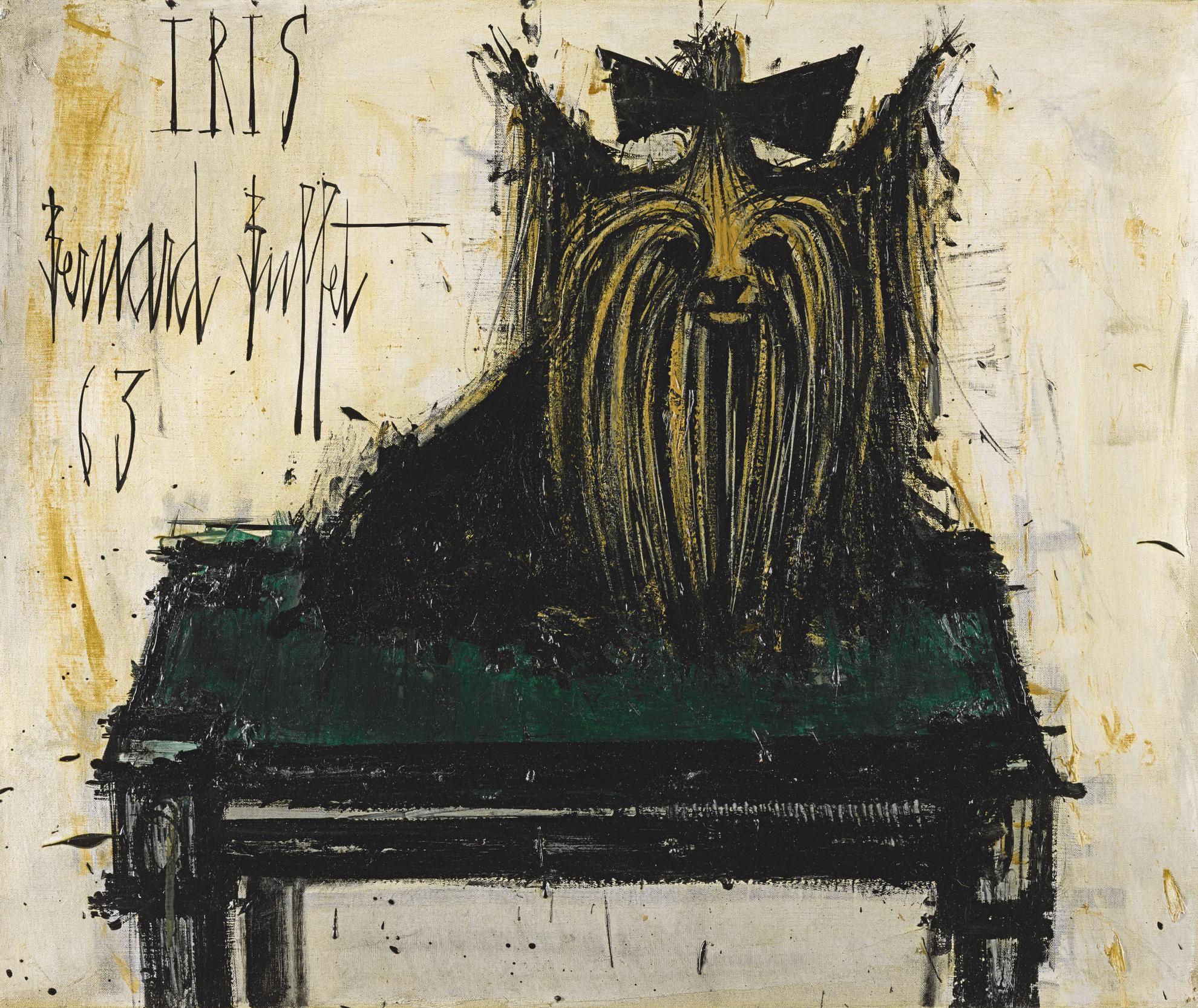 Bernard Buffet-Iris-1963