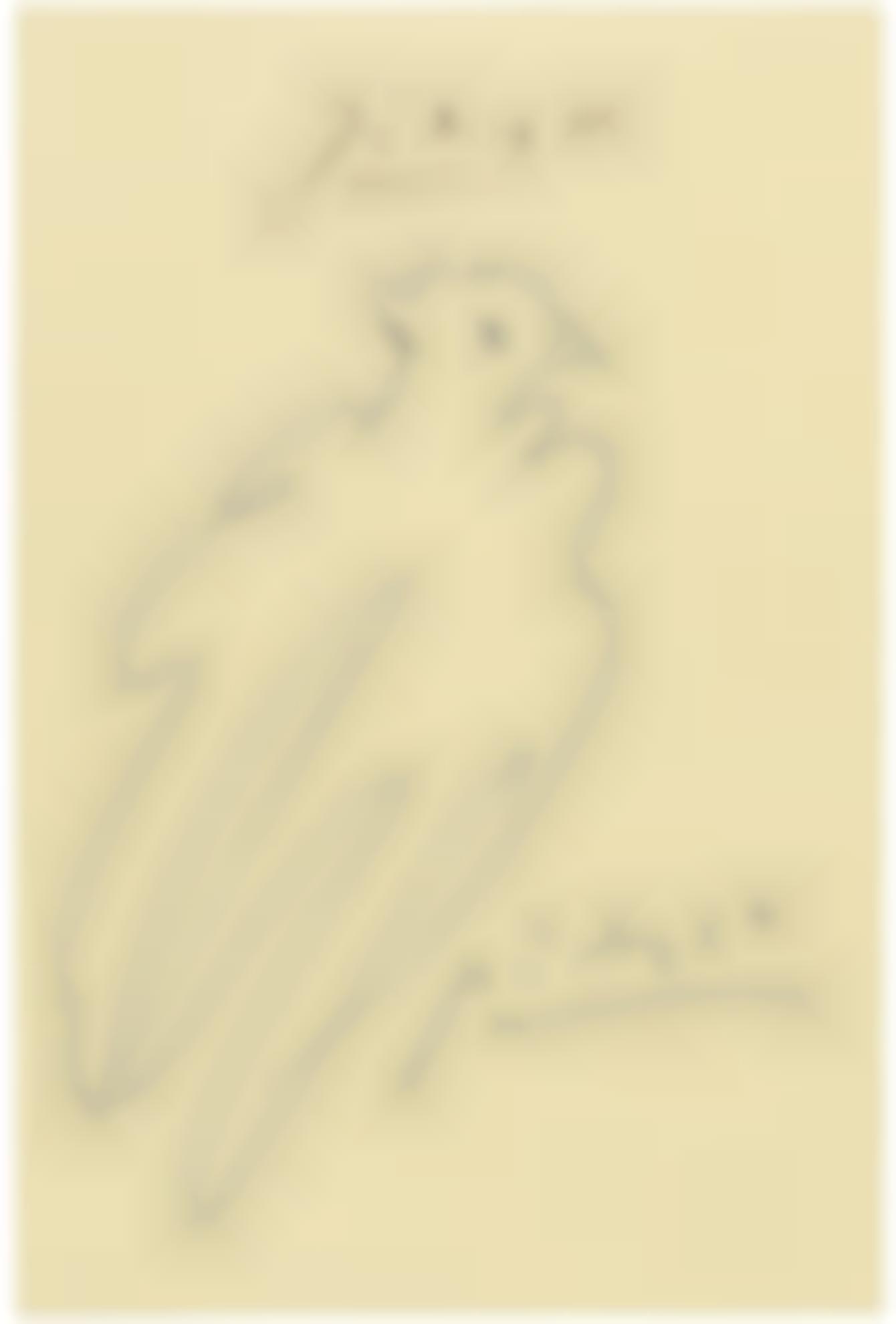 Pablo Picasso-Colombe-