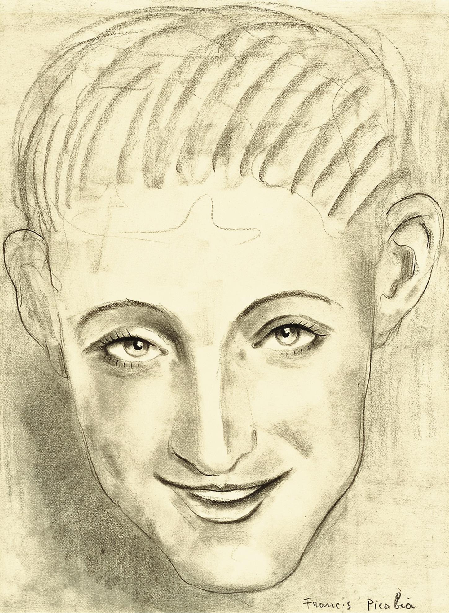 Francis Picabia-Portrait Dhomme-1942