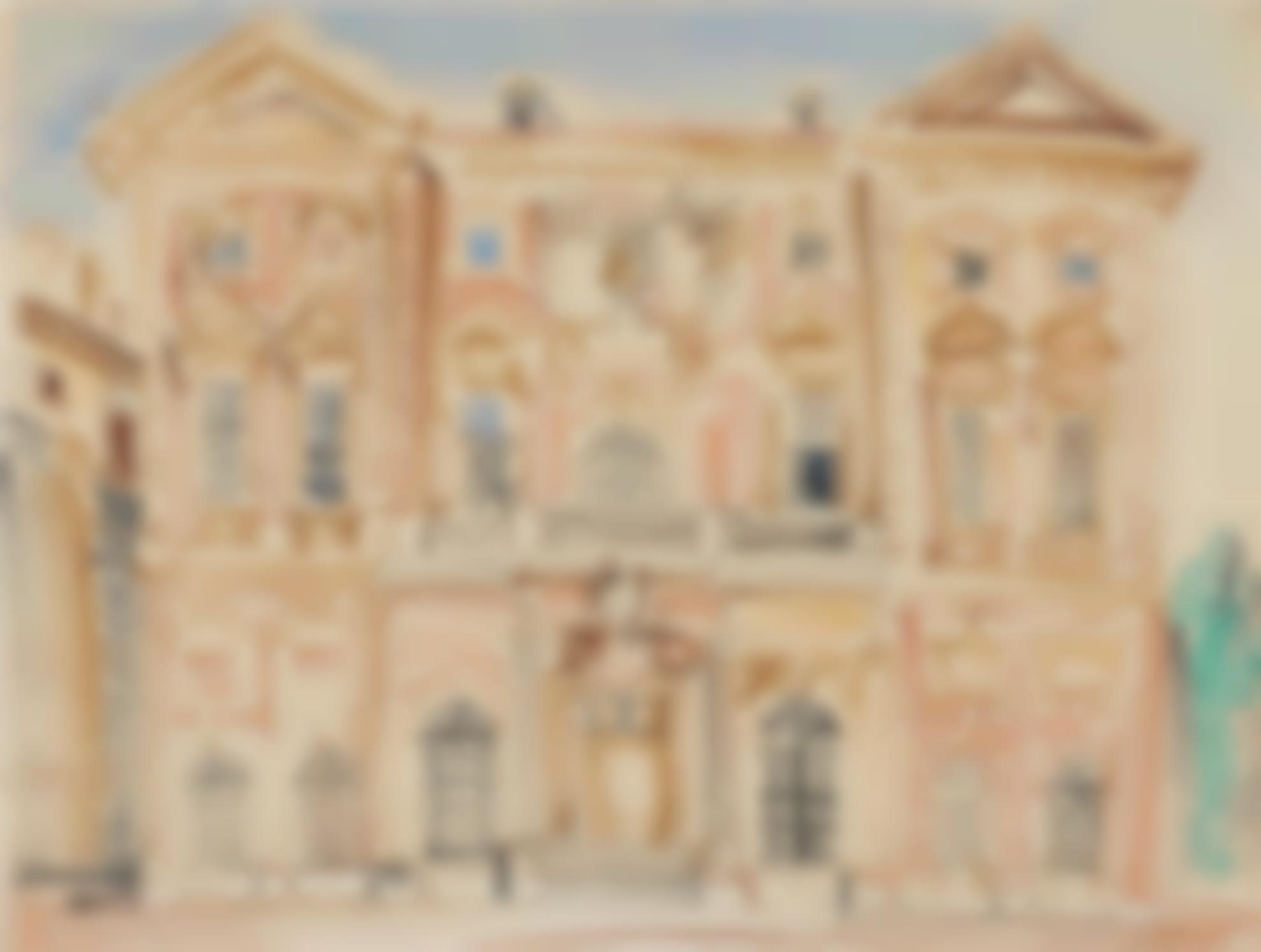 Raoul Dufy-Lhotel De Ville De Marseille-1923