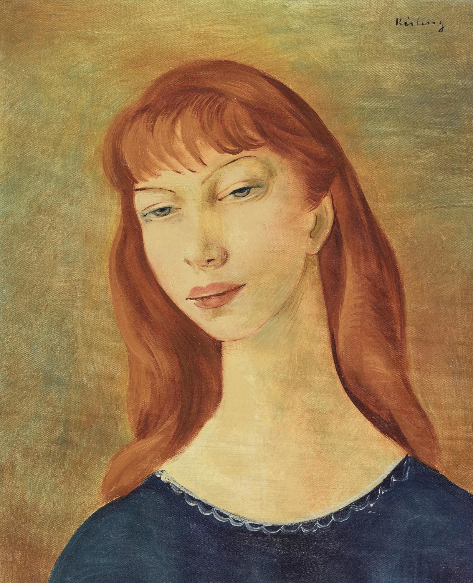 Moise Kisling-Tete De Femme-1942