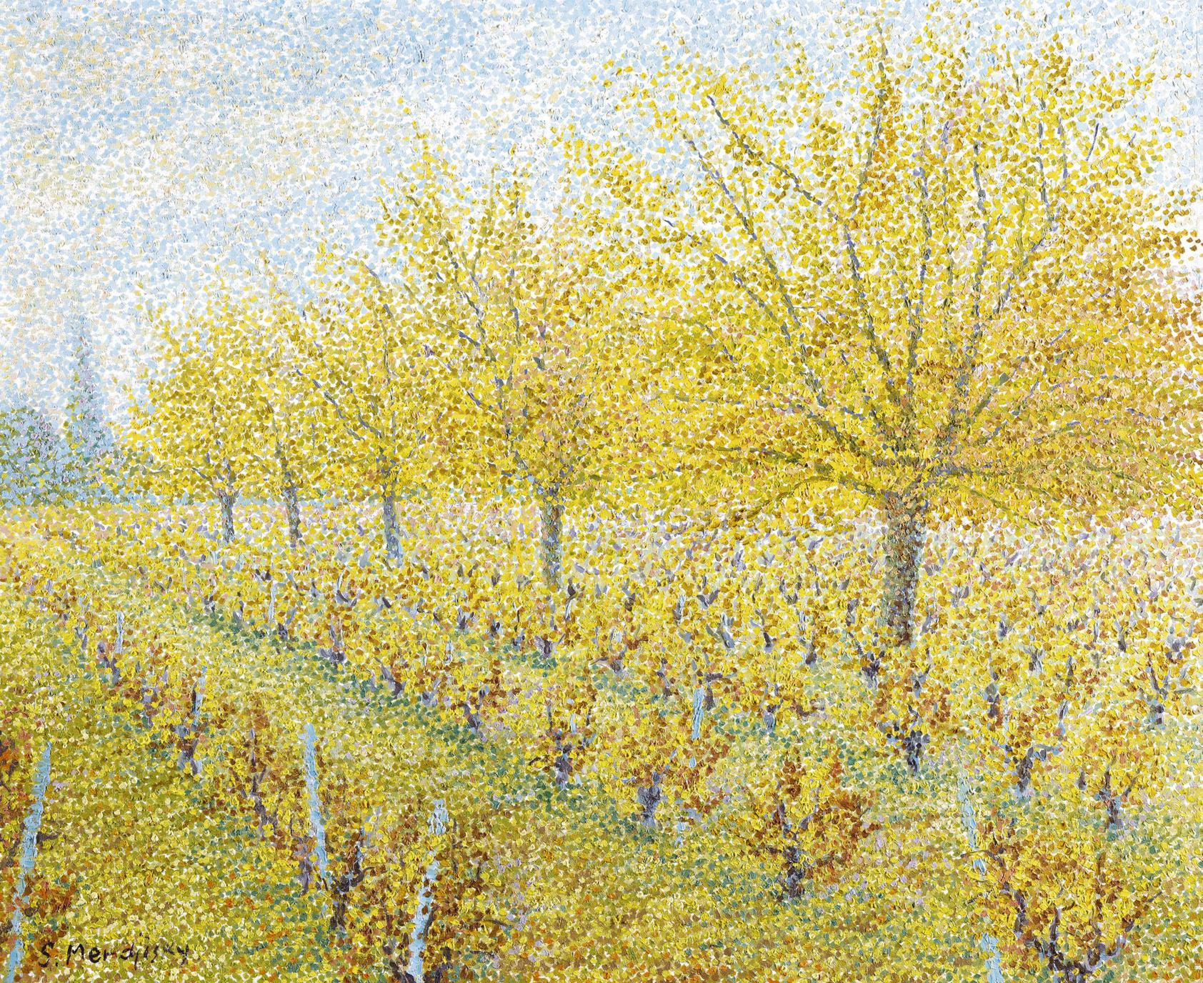 Serge Mendjisky-Les Vignes A Vidaubon-