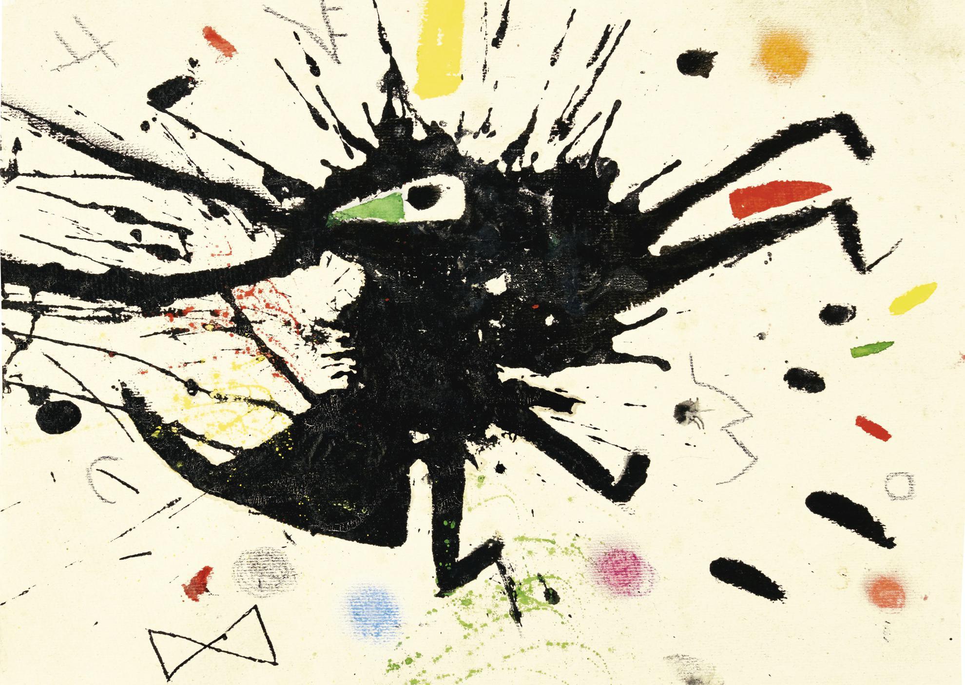 Joan Miro-Sans Titre-1975
