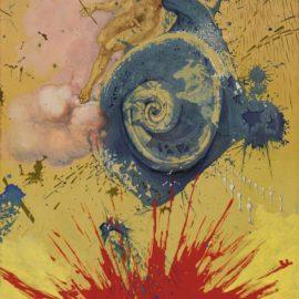 Salvador Dali-The Aura Of Cervantes Or L'Aurore-1957