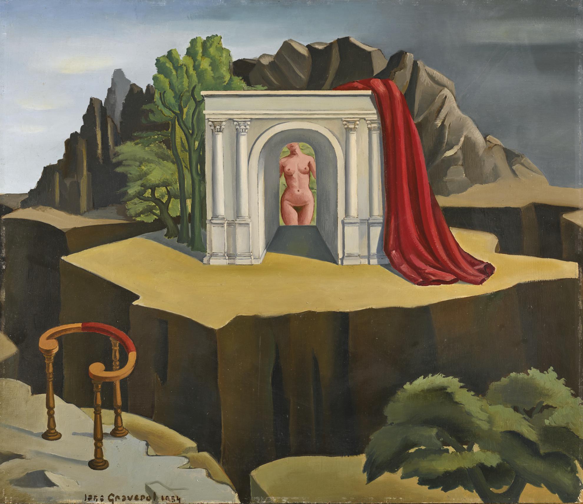 Jane Graverol - La Chair De Verite-1954
