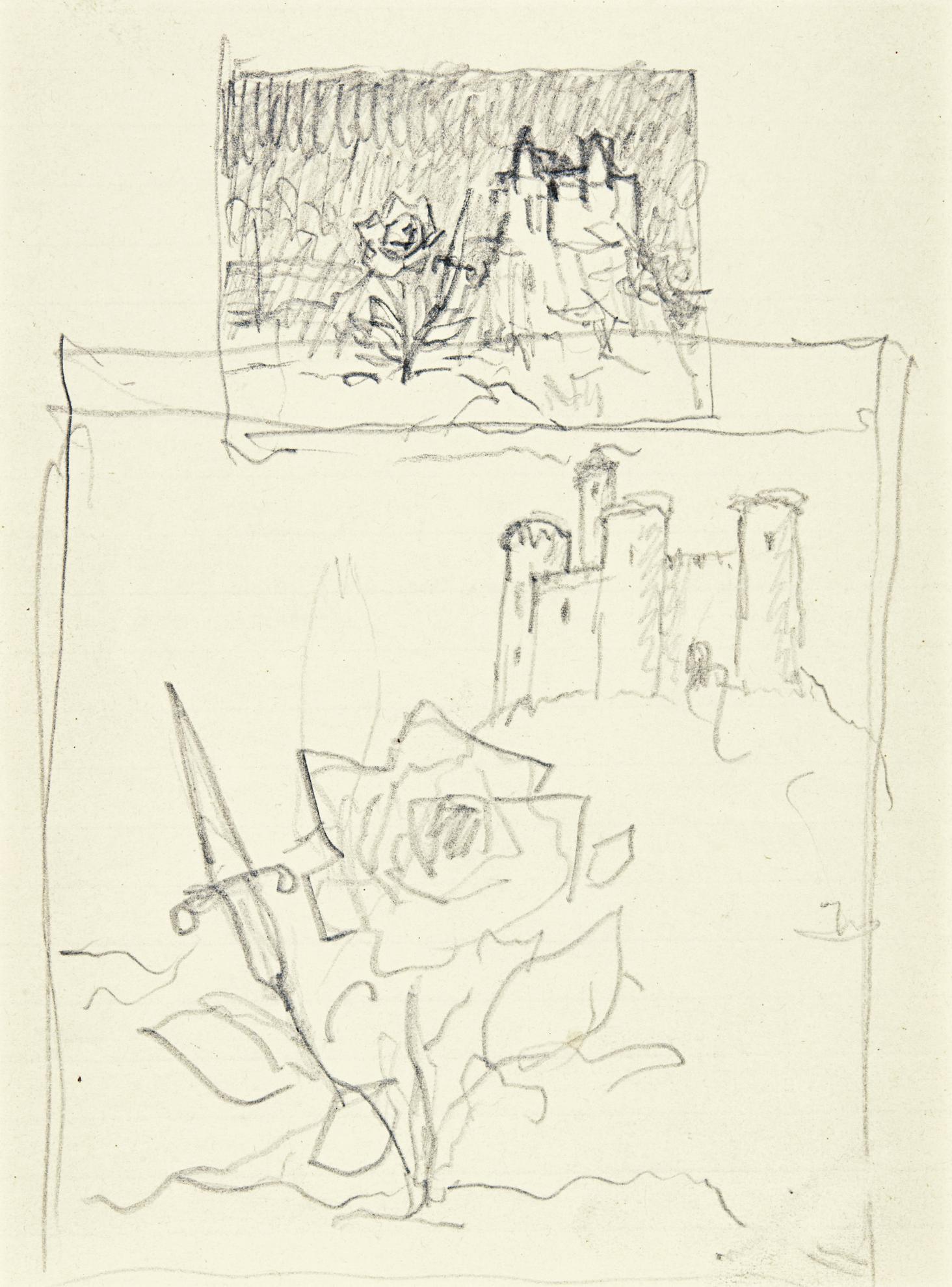 Rene Magritte-Sans Titre-1952