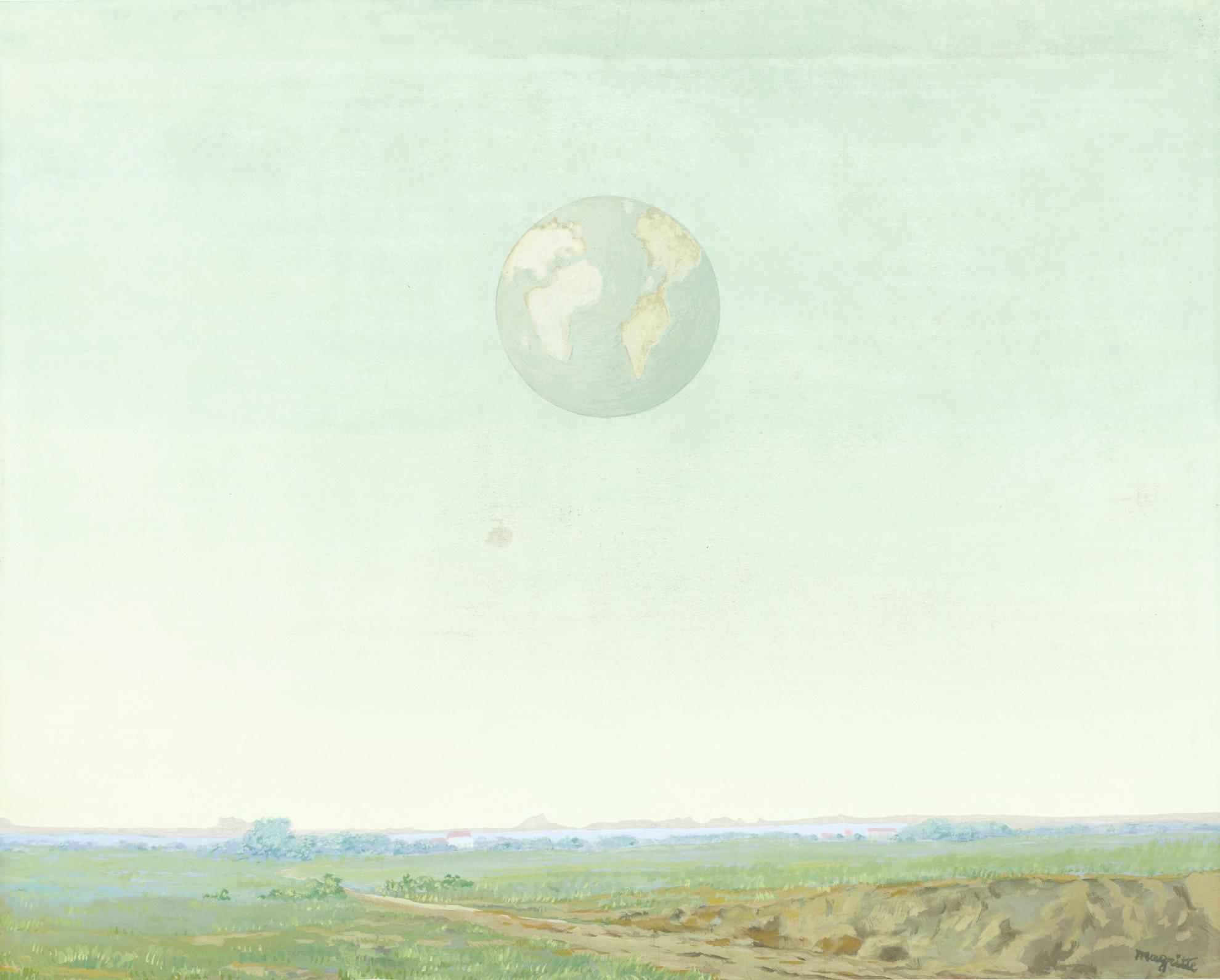Rene Magritte-L'Empire De La Reflexion-1947