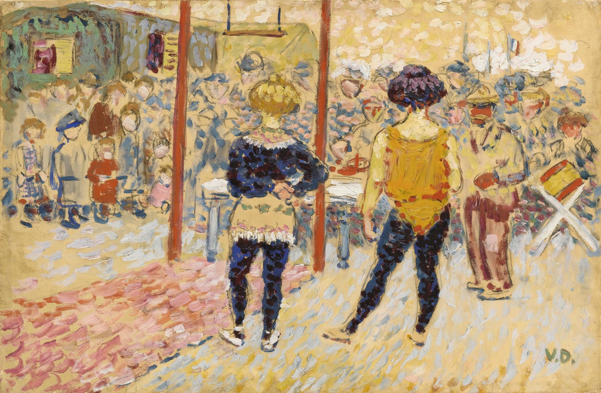 Kees van Dongen-Le Cirque-1905