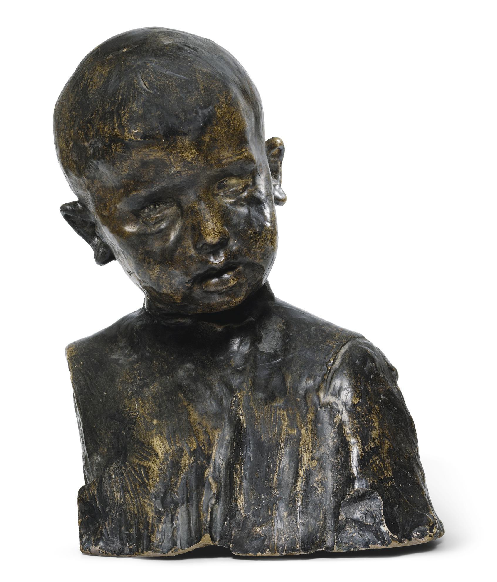 Constantin Brancusi-Buste Denfant-1906