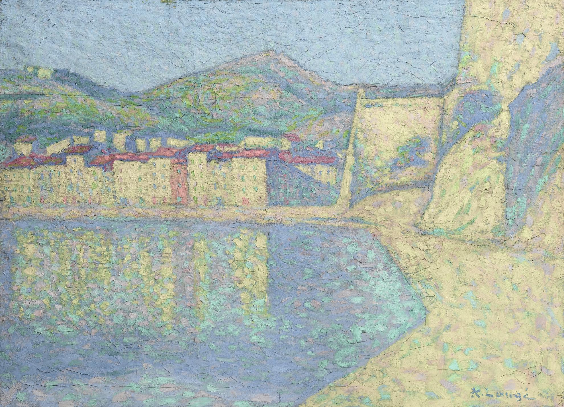 Achille Lauge-Le Port De Collioure-