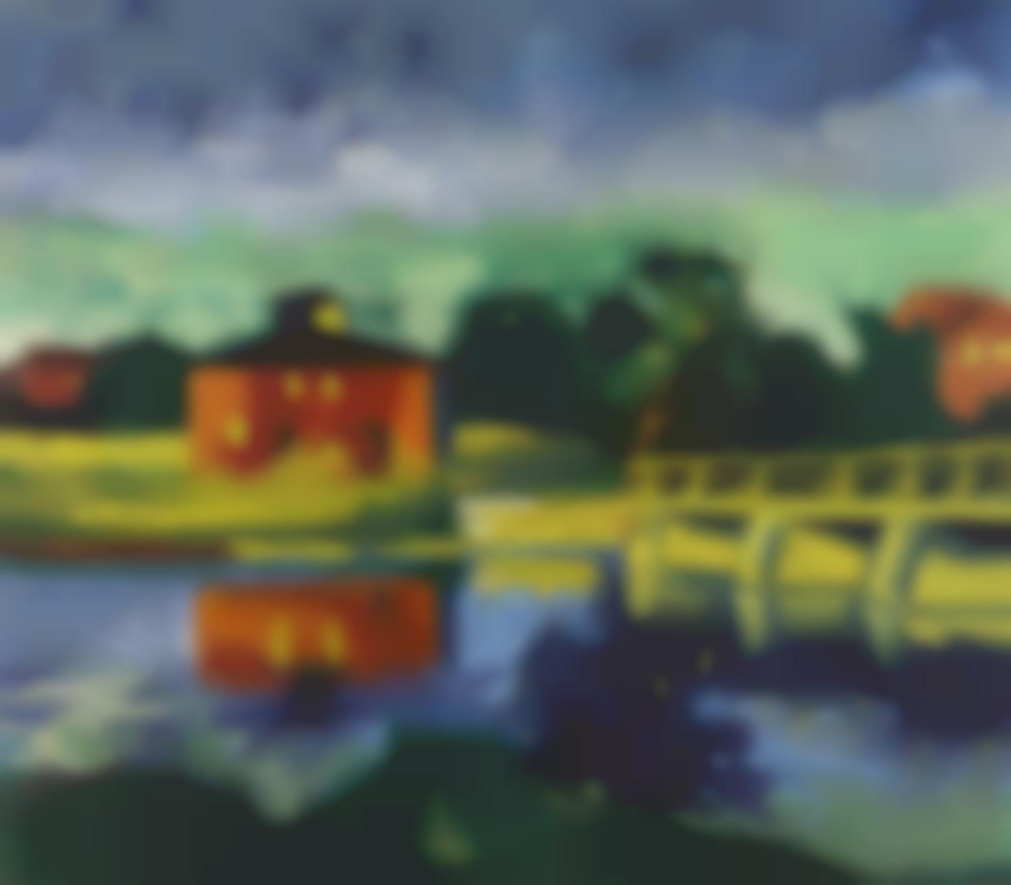 Max Pechstein-Am Fluss (At The River)-1923