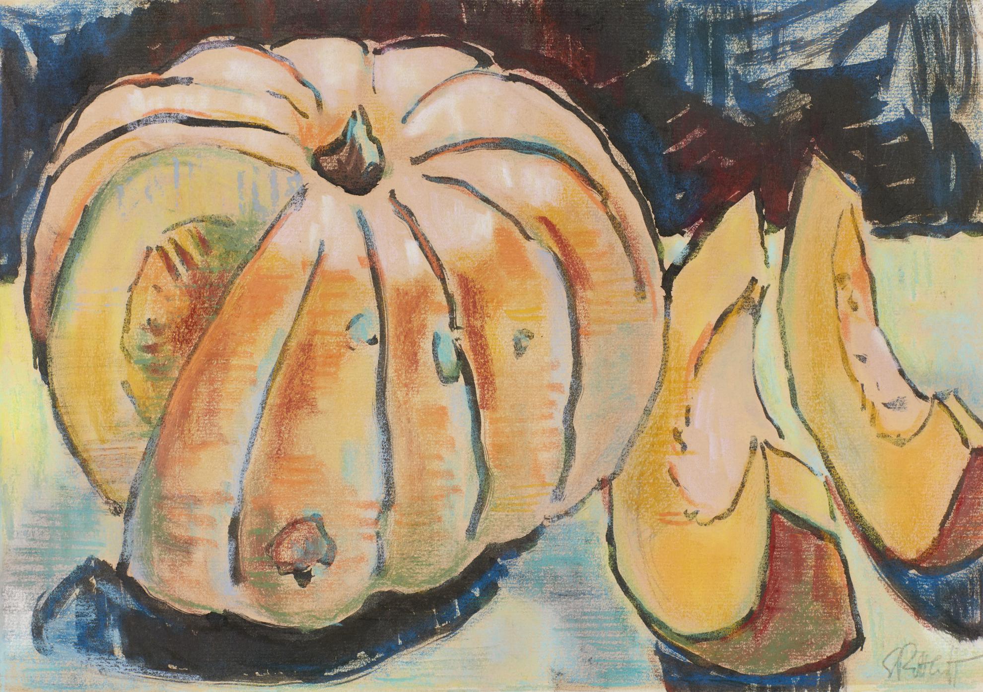 Karl Schmidt-Rottluff-Kurbis (Pumpkin)-1940