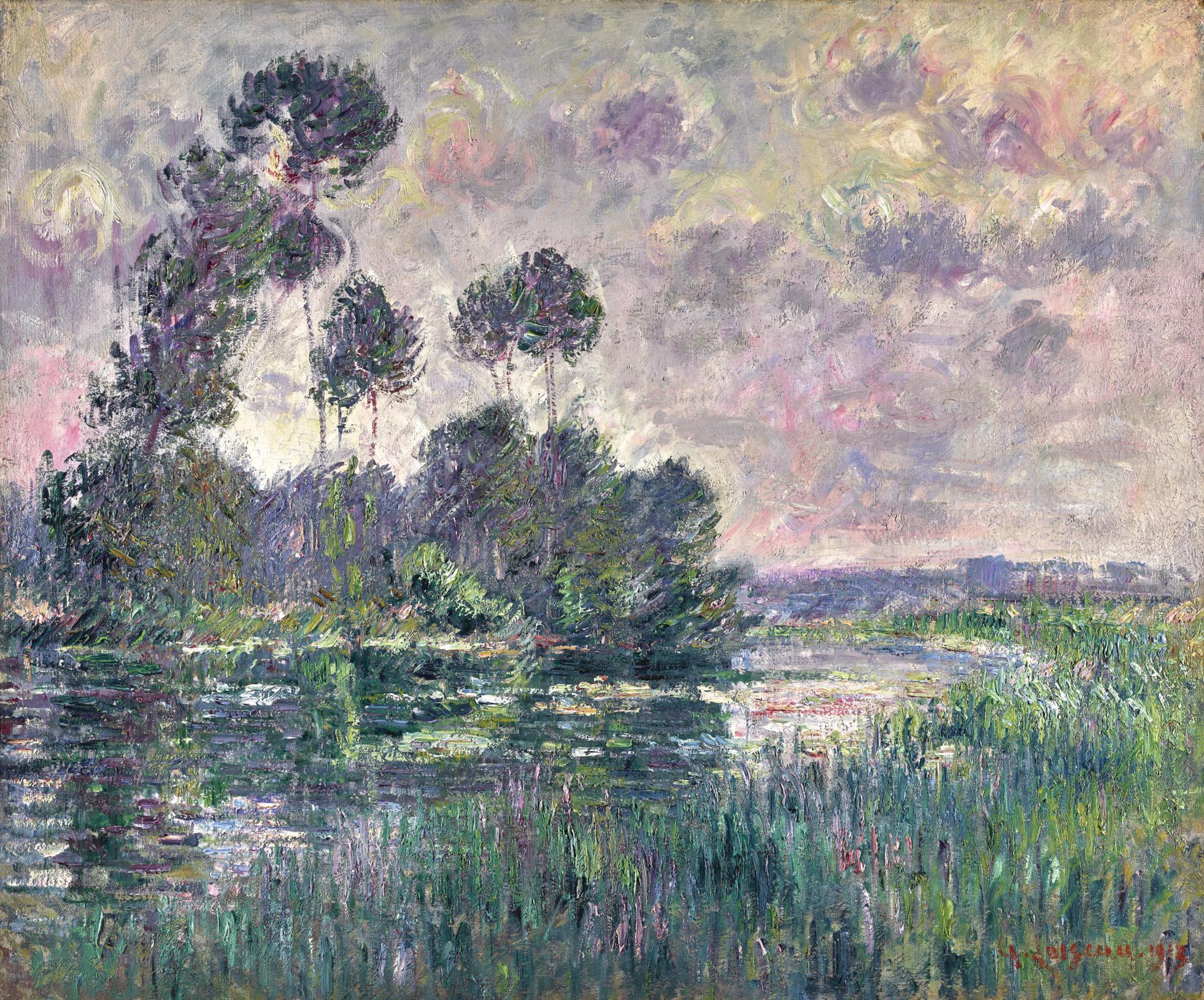 Gustave Loiseau-Riviere En Normandie-1913