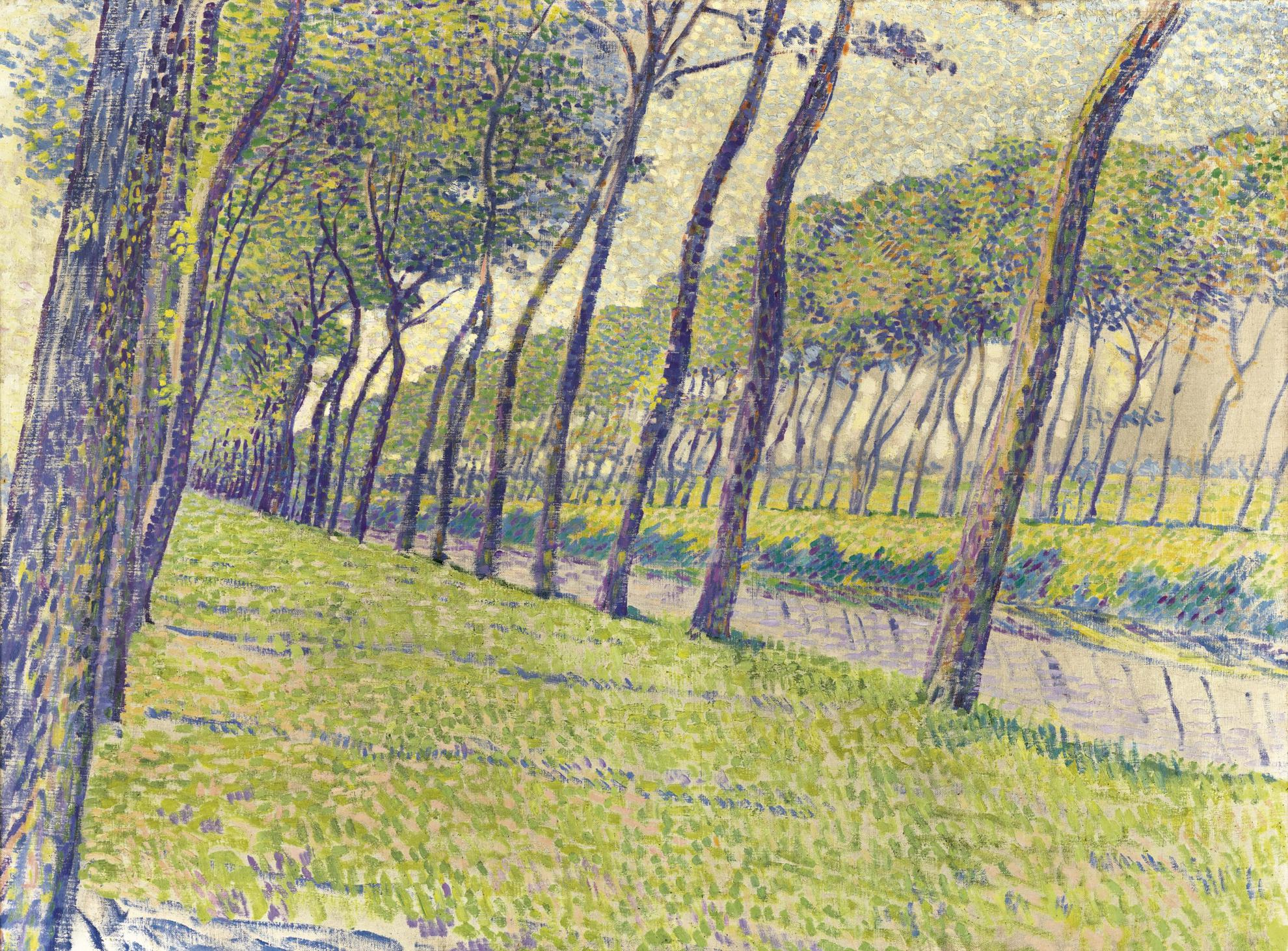 Theo van Rysselberghe-Canal En Flandre-1894