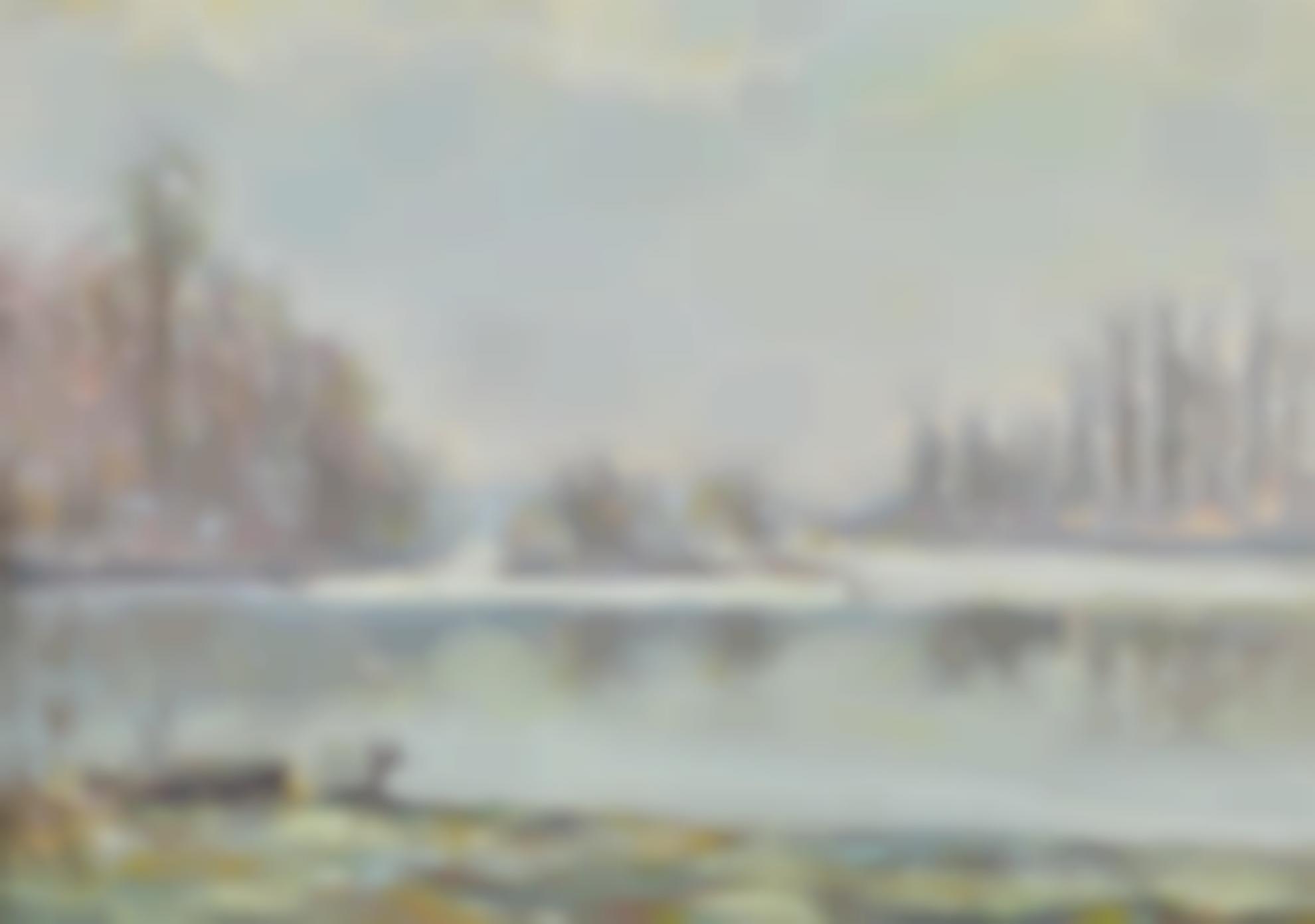 Jean-Baptiste Armand Guillaumin-Effet De Neige A Argenteuil-1880